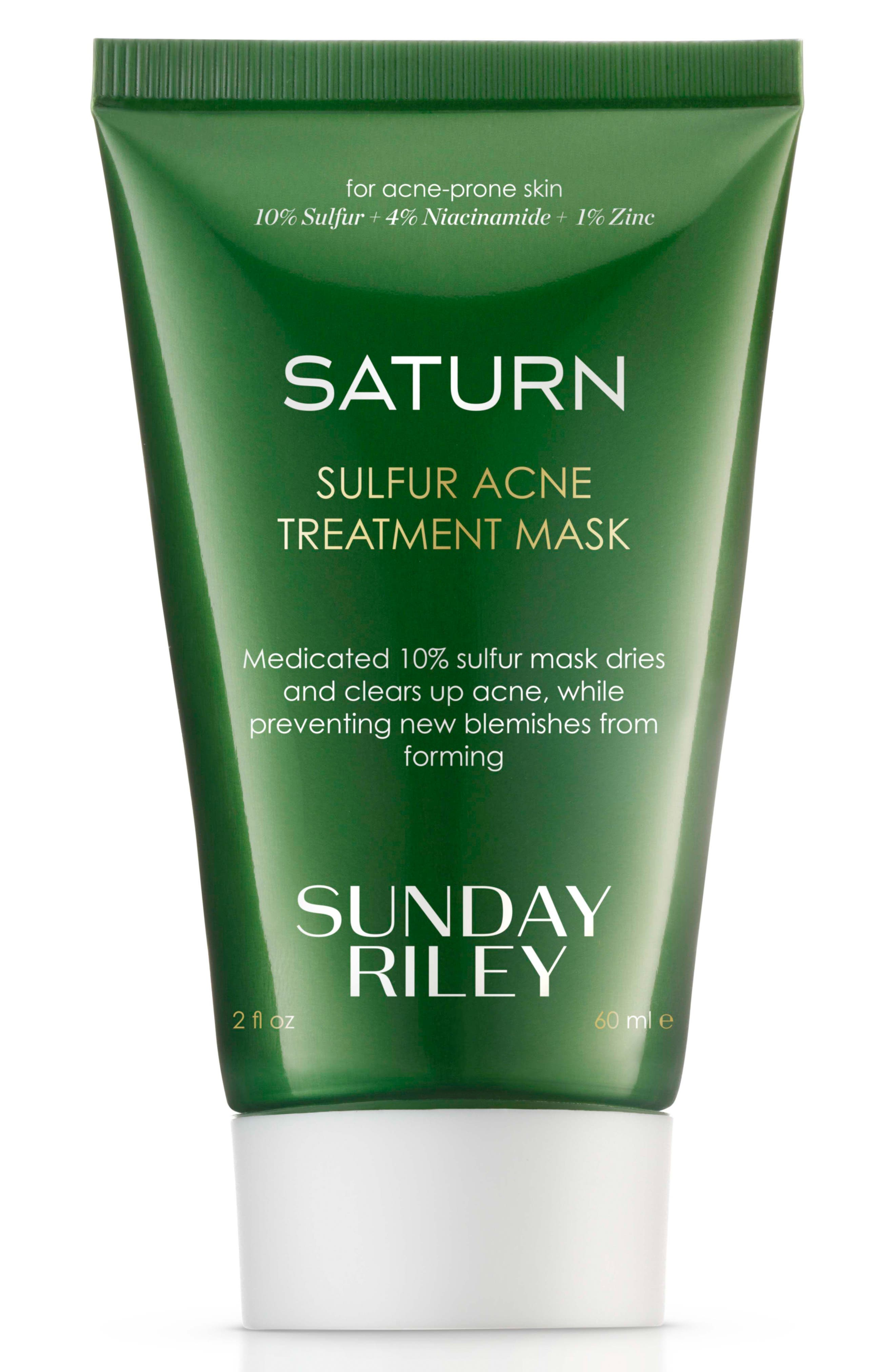 SPACE.NK.apothecary Sunday Riley Saturn Sulfur Acne Treatment Mask,                         Main,                         color, No Color