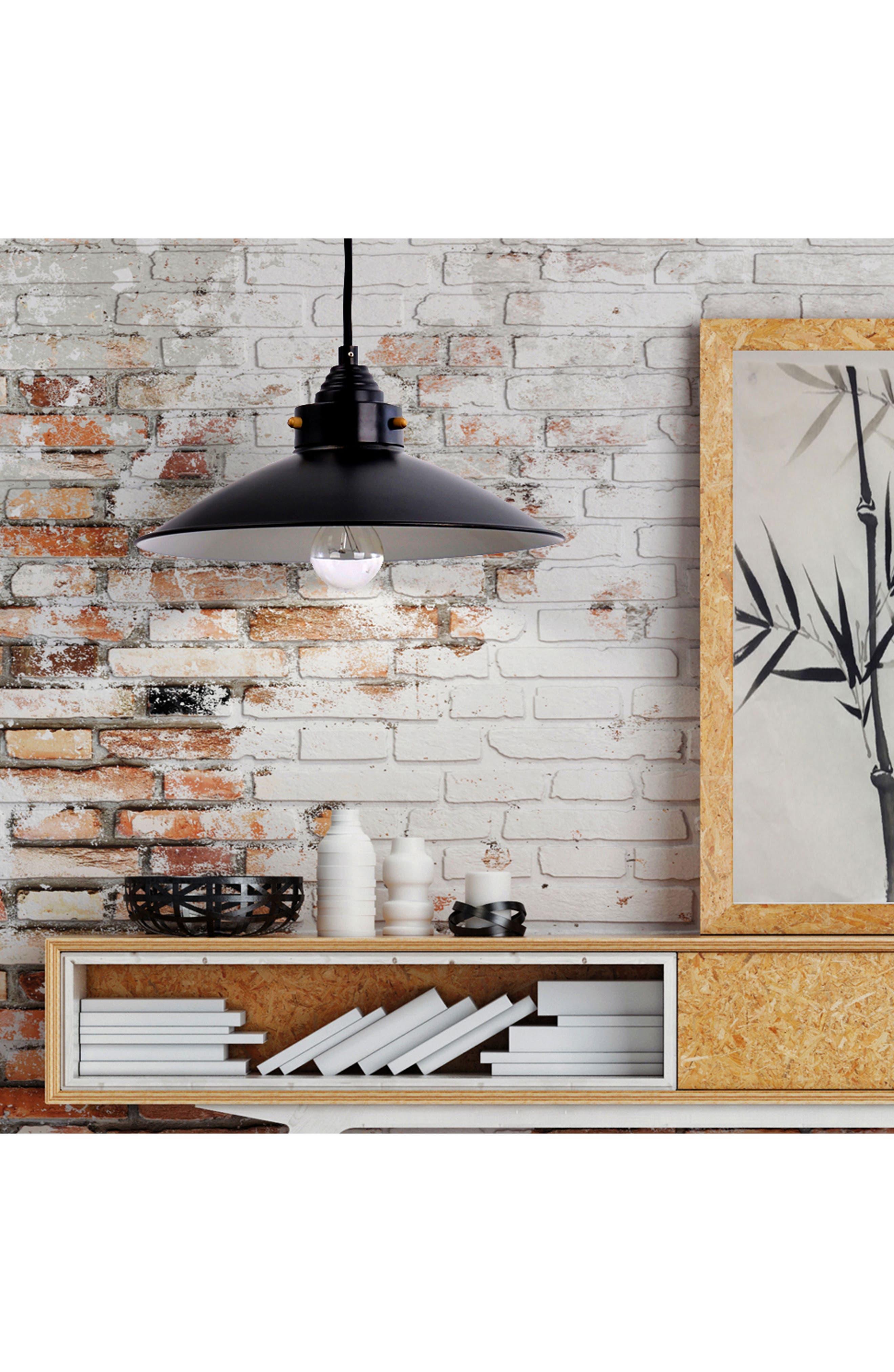 JAlexander Urbana Metal Shade Pendant Lamp,                             Alternate thumbnail 2, color,