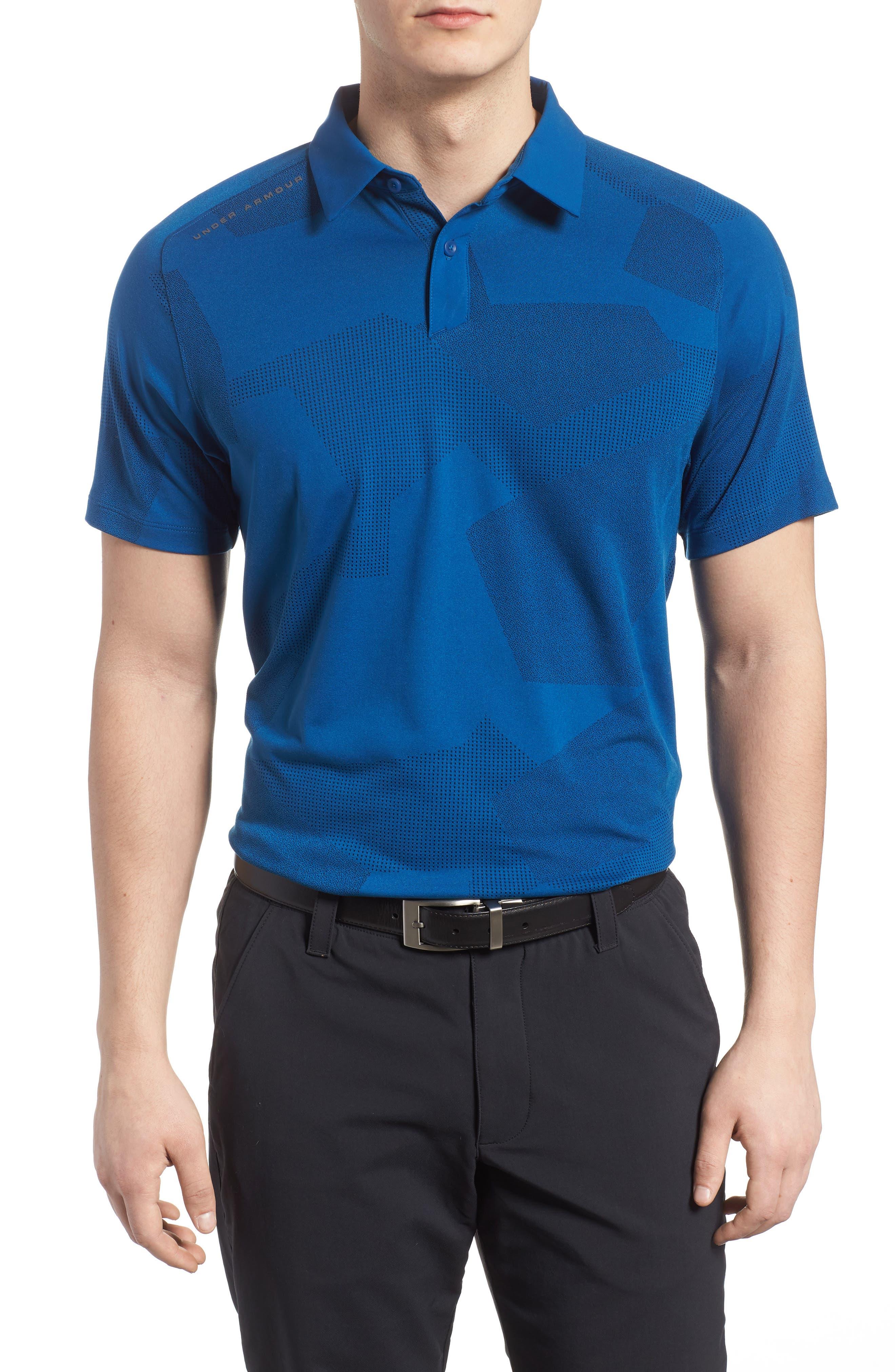 Threadborne Limitless Polo Shirt,                         Main,                         color, 487 Mrccan Blu Rhno Gry