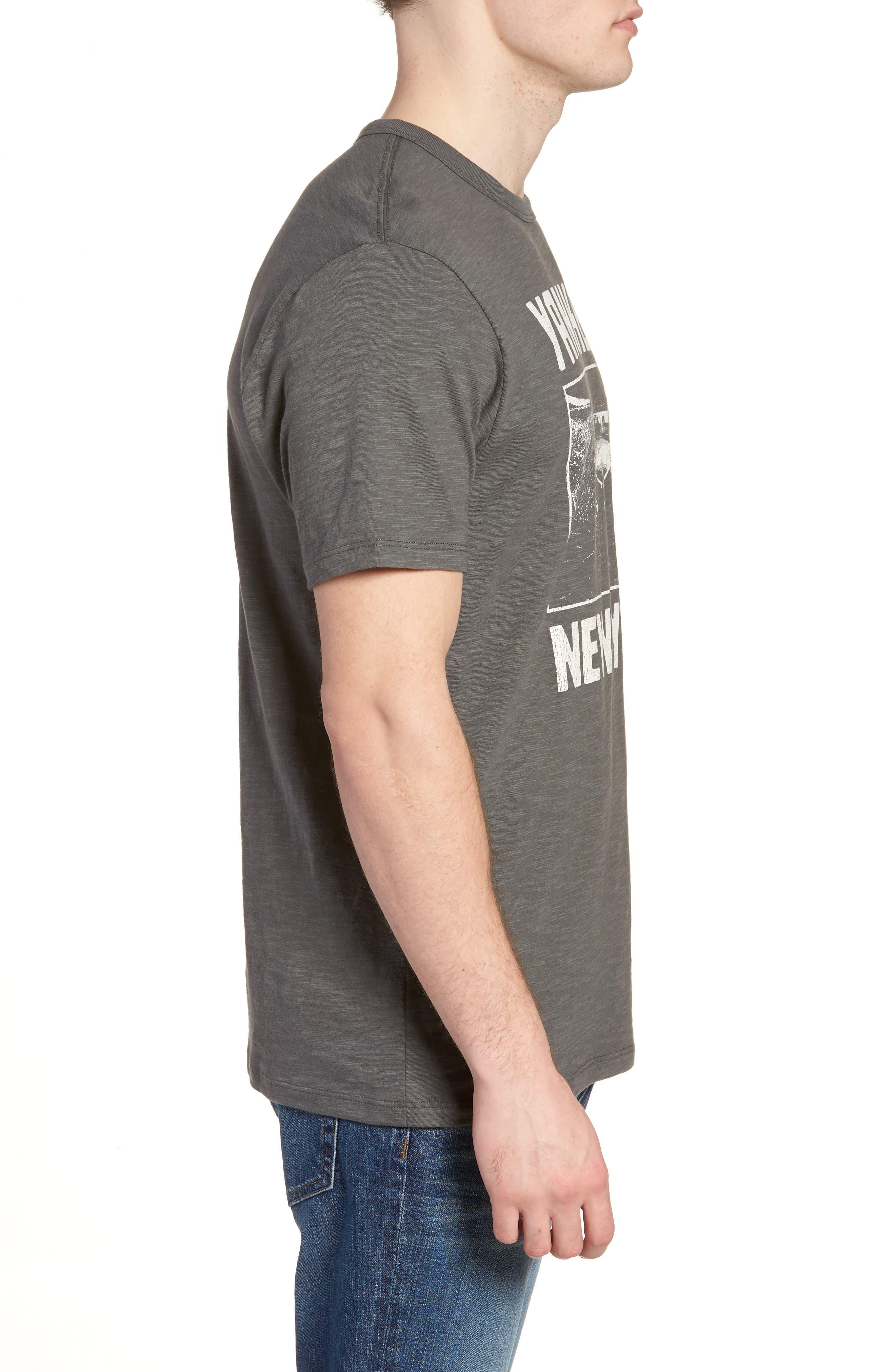 MLB Overdrive Scrum New York Yankees T-Shirt,                             Alternate thumbnail 3, color,                             Submarine
