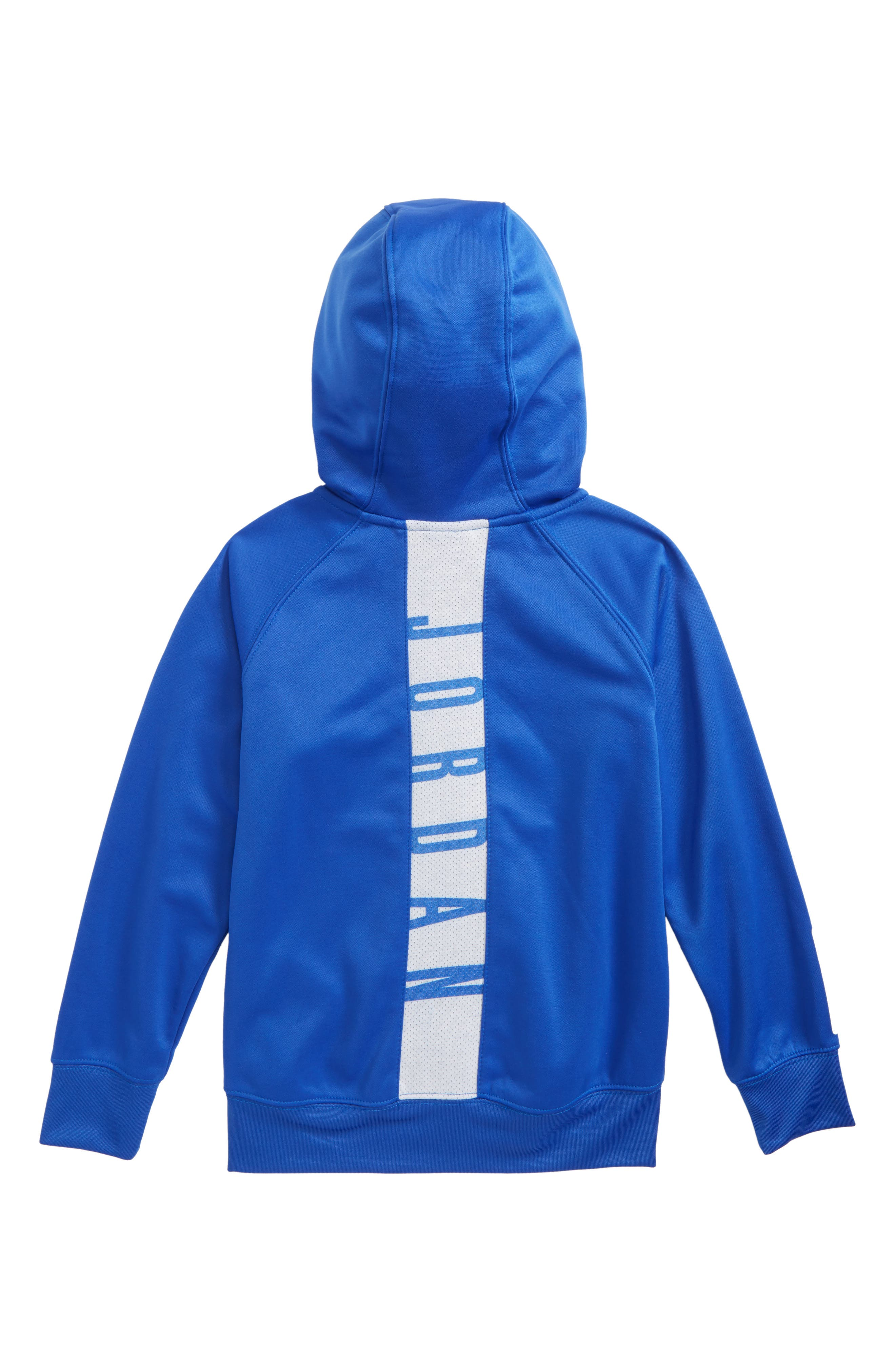 Jordan Dry 23 Alpha FZ Therma-FIT Zip Hoodie,                             Alternate thumbnail 2, color,                             Hyper Royal