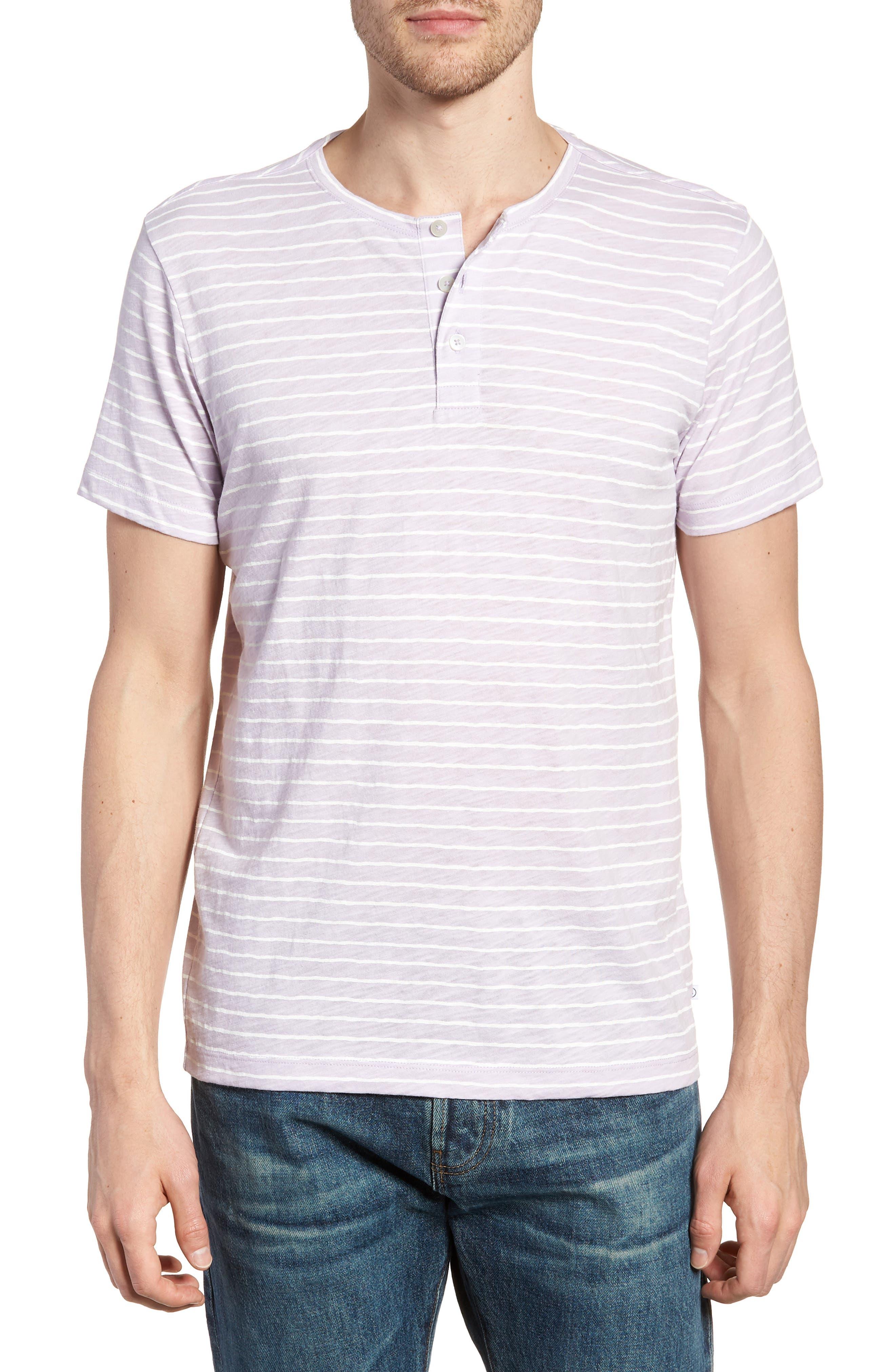 Bonobos Stripe Henley T-Shirt