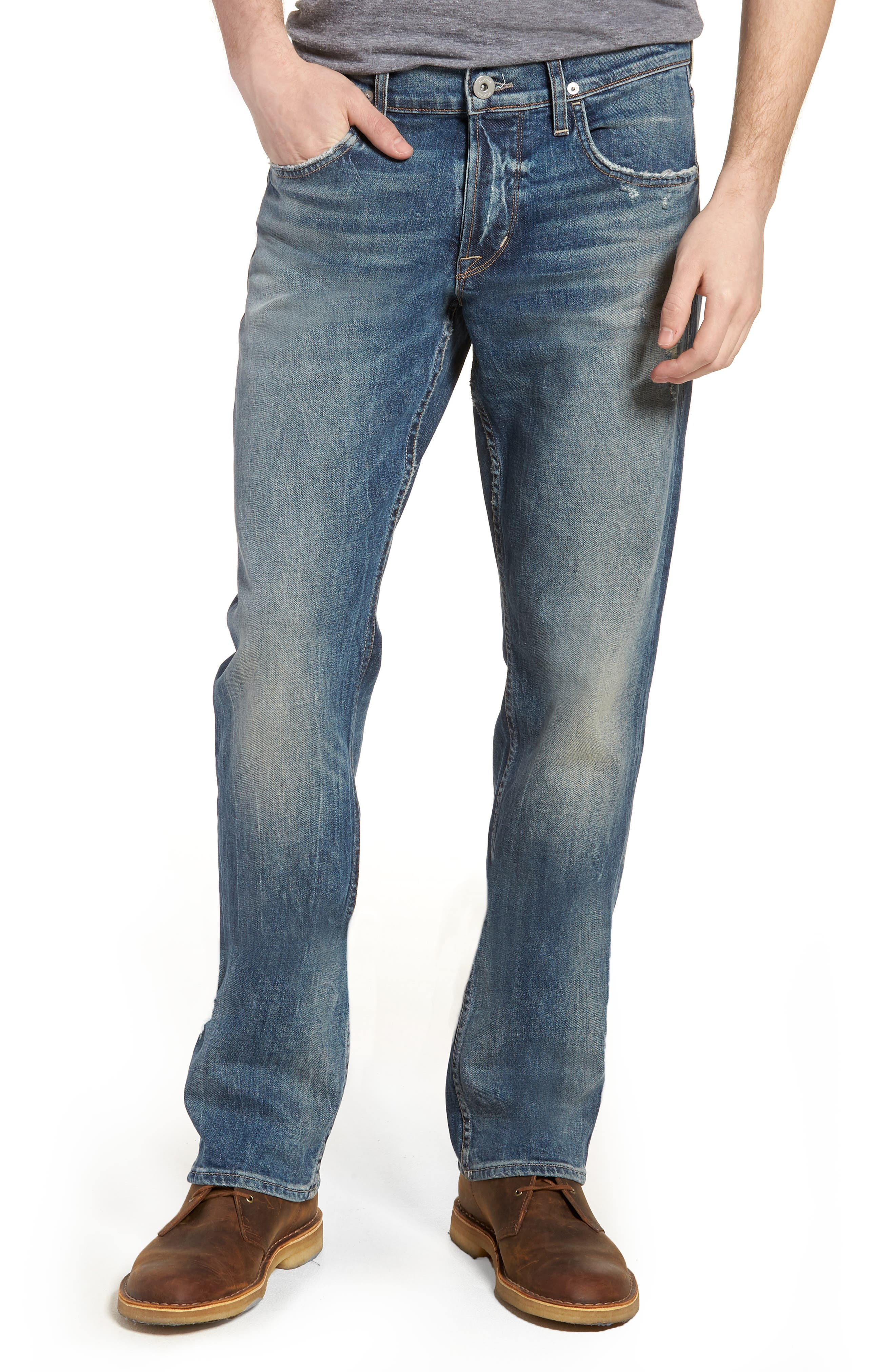Hudson Jeans Byron Slim Straight Fit Jeans (Hang Up)