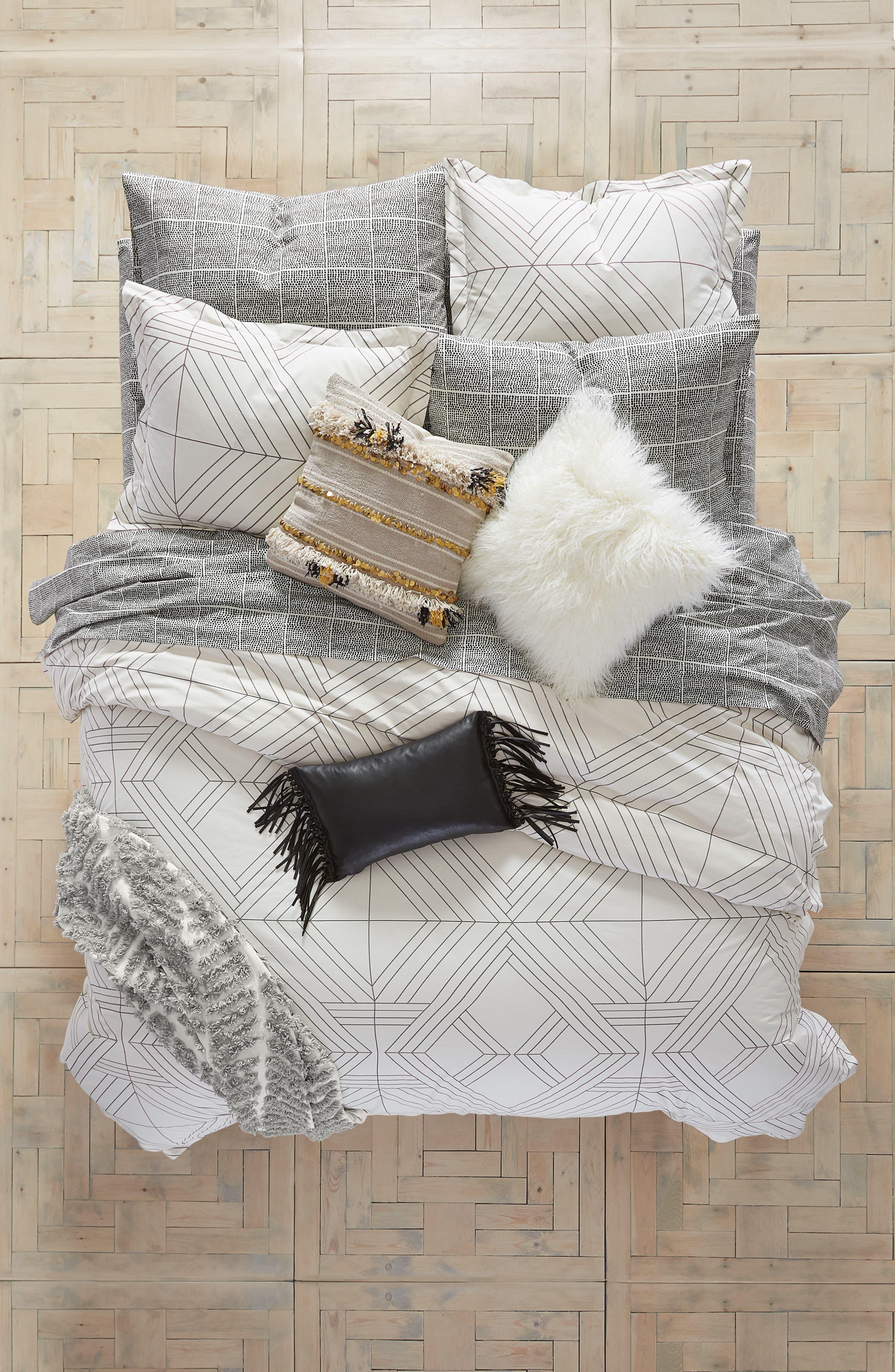 Deco Diamonds Duvet Cover & Sham Set,                         Main,                         color,