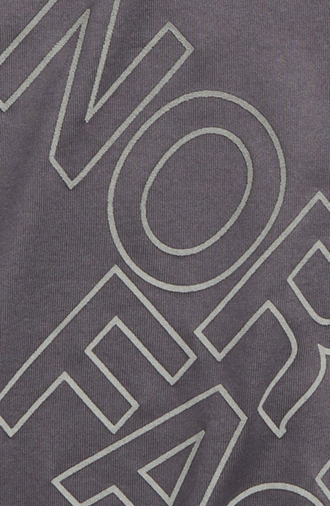 Reaxion Tee,                             Alternate thumbnail 2, color,                             Graphite Grey