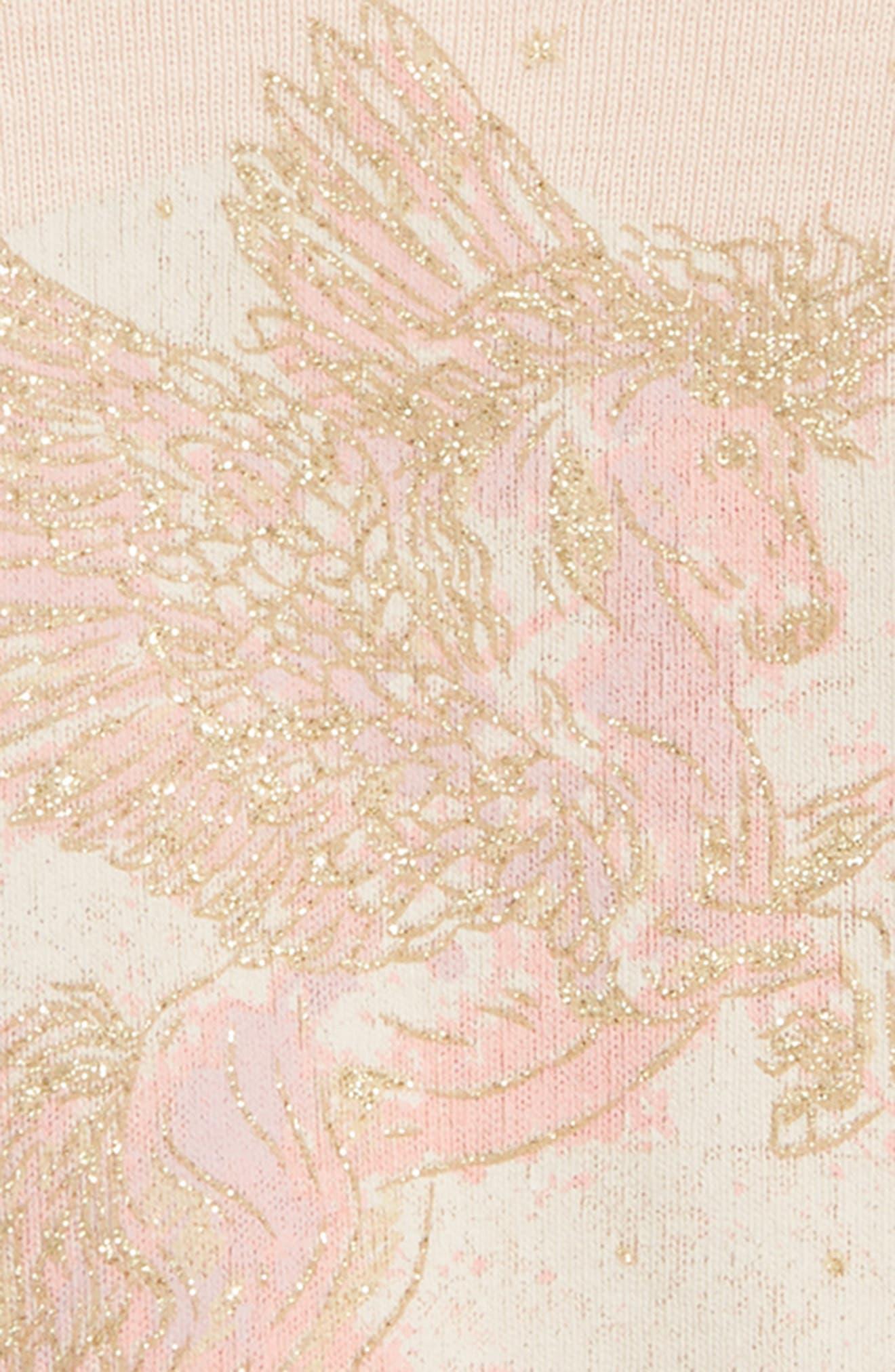 Pegasus Organic Cotton Tee,                             Alternate thumbnail 2, color,                             Powder