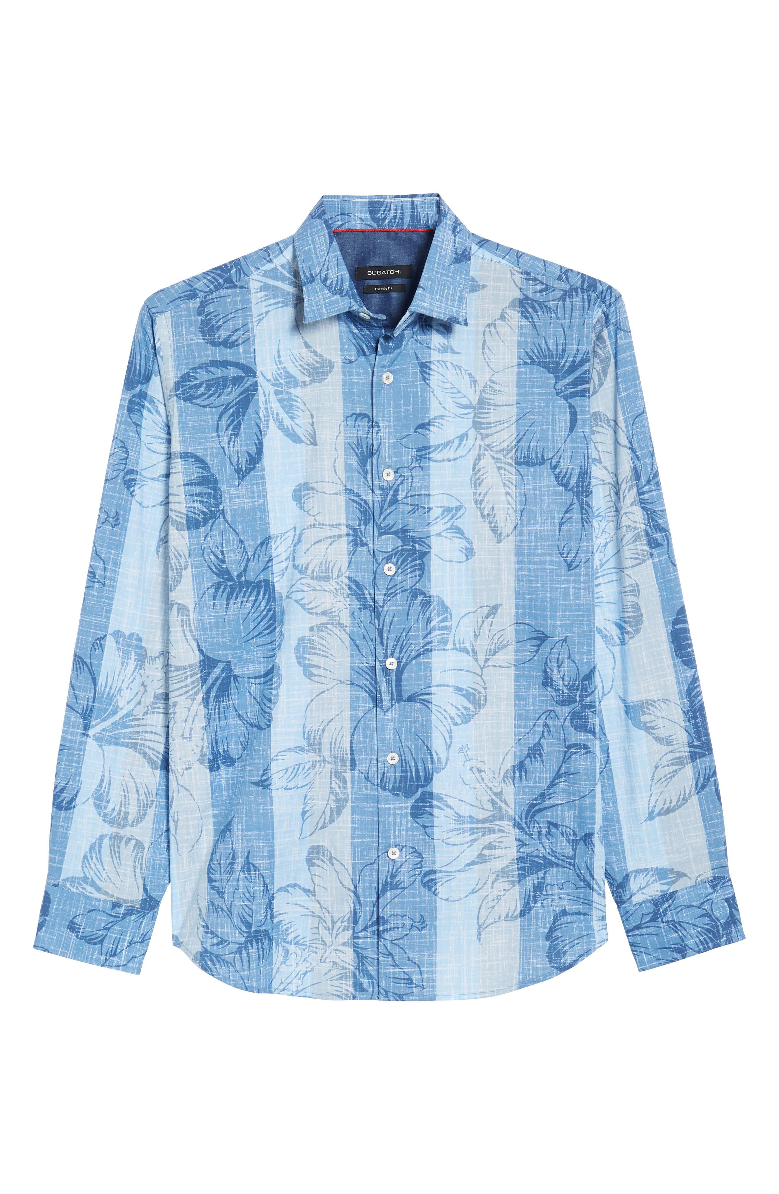 Sport Shirt,                             Alternate thumbnail 6, color,                             Air Blue