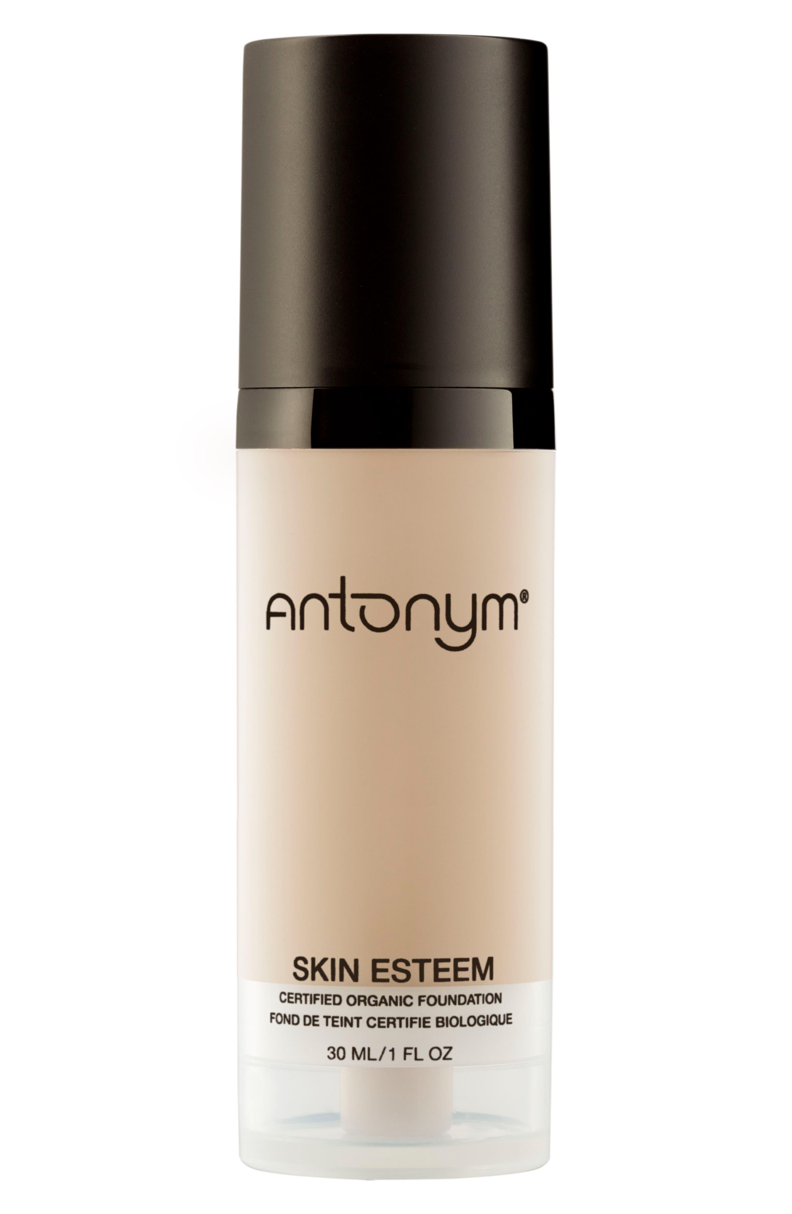 Skin Esteem Organic Liquid Foundation,                             Main thumbnail 1, color,                             Beige Medium Light