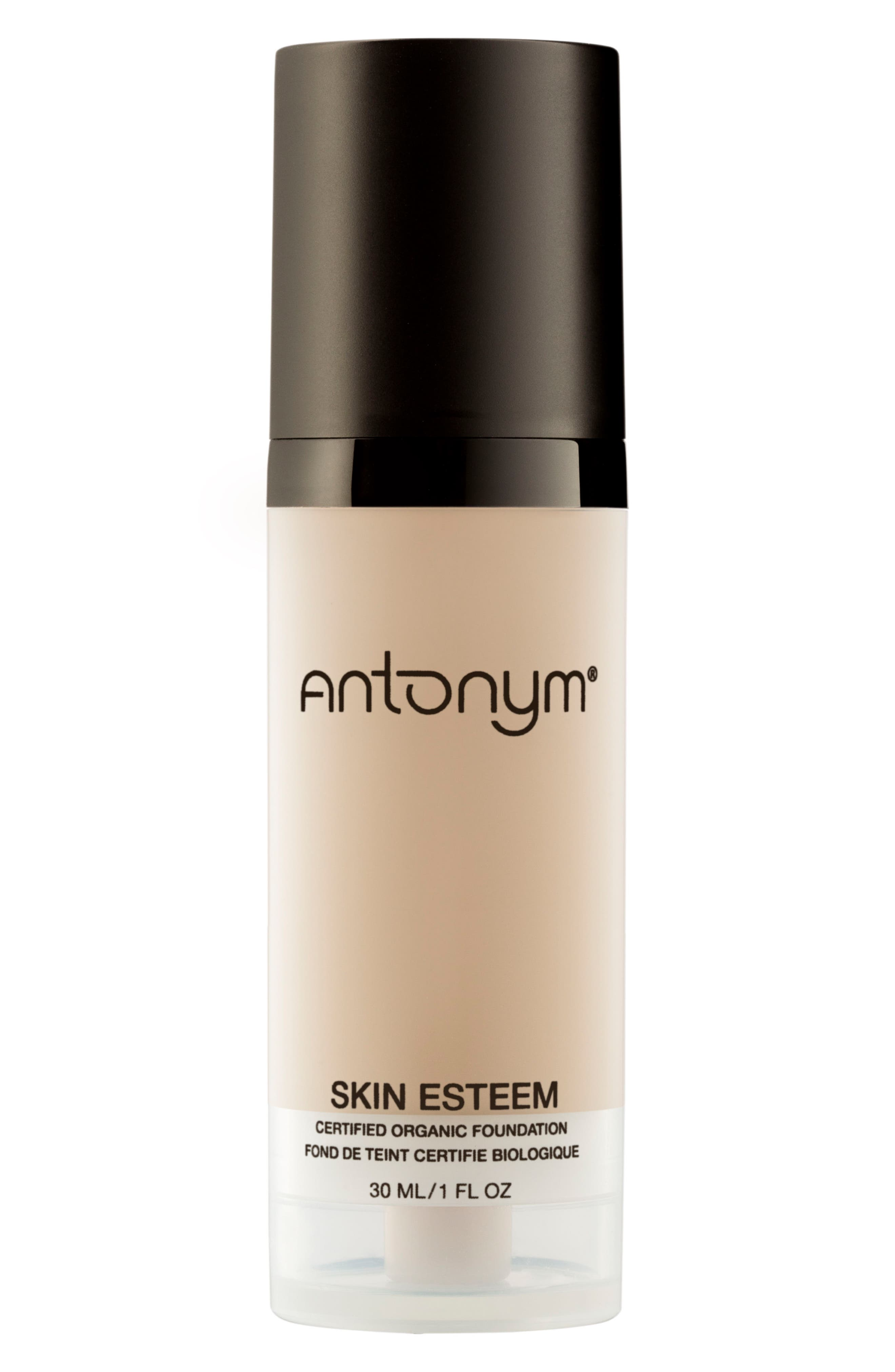 Skin Esteem Organic Liquid Foundation,                         Main,                         color, Beige Medium Light