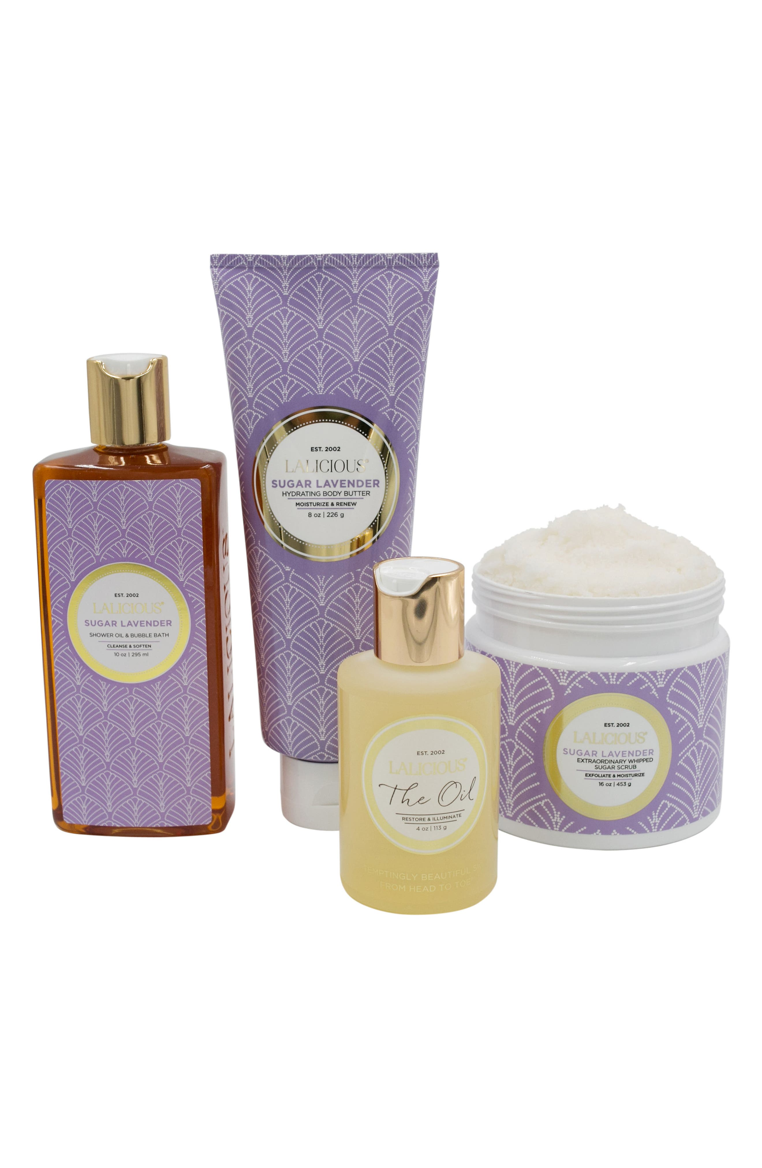Alternate Image 2  - LALICIOUS Sugar Lavender At Home Spa Collection (Nordstrom Exclusive) ($117 Value)