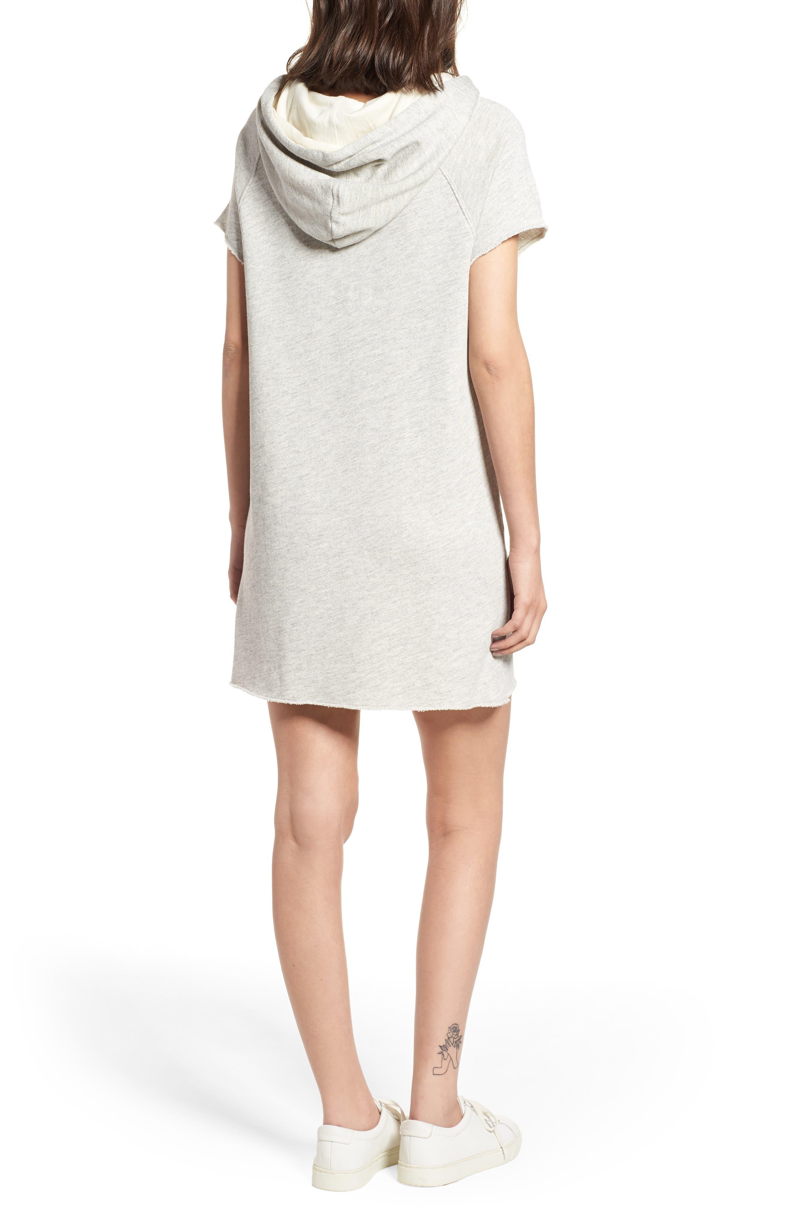 Alternate Image 2  - n:PHILANTHROPY Spades Hoodie Dress