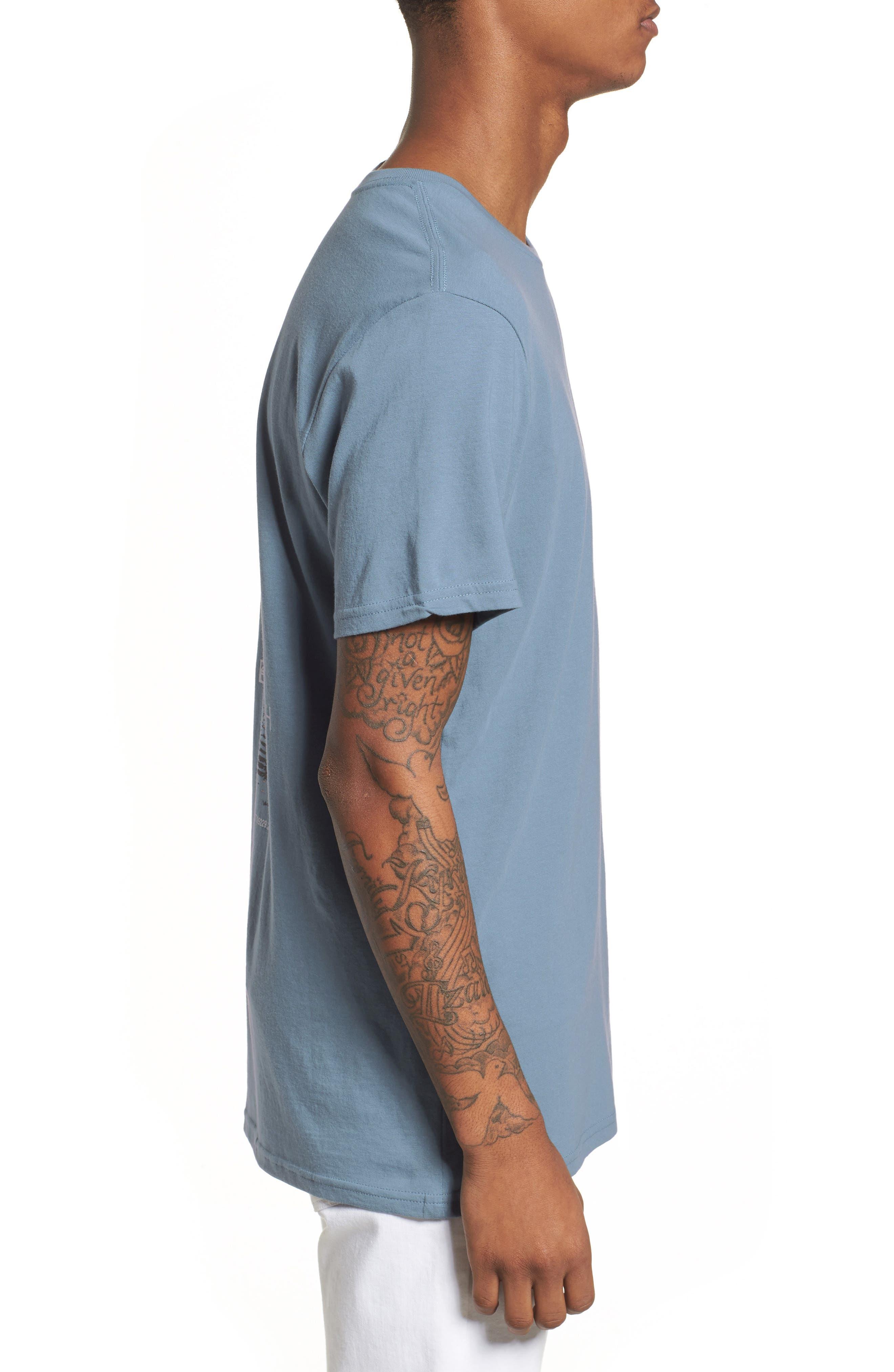 Nove Graphic T-Shirt,                             Alternate thumbnail 2, color,                             Prison Blue