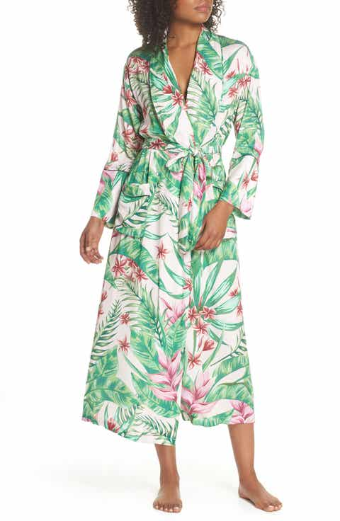 Bed to Brunch Floral Print Robe