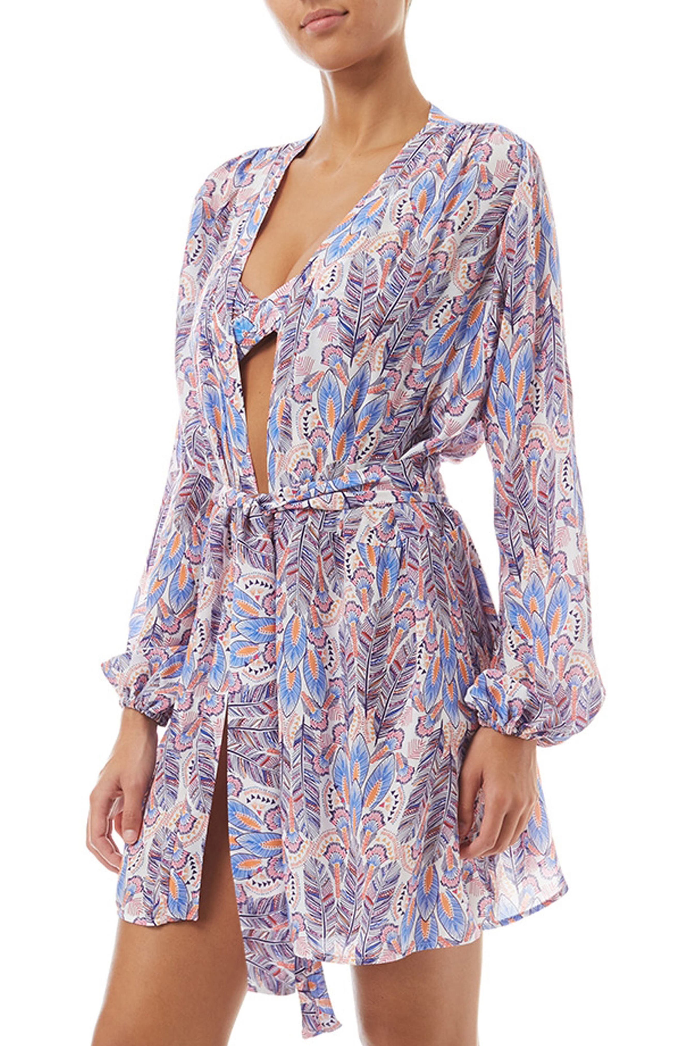 Kiera Cover-Up Wrap,                         Main,                         color, Feathers
