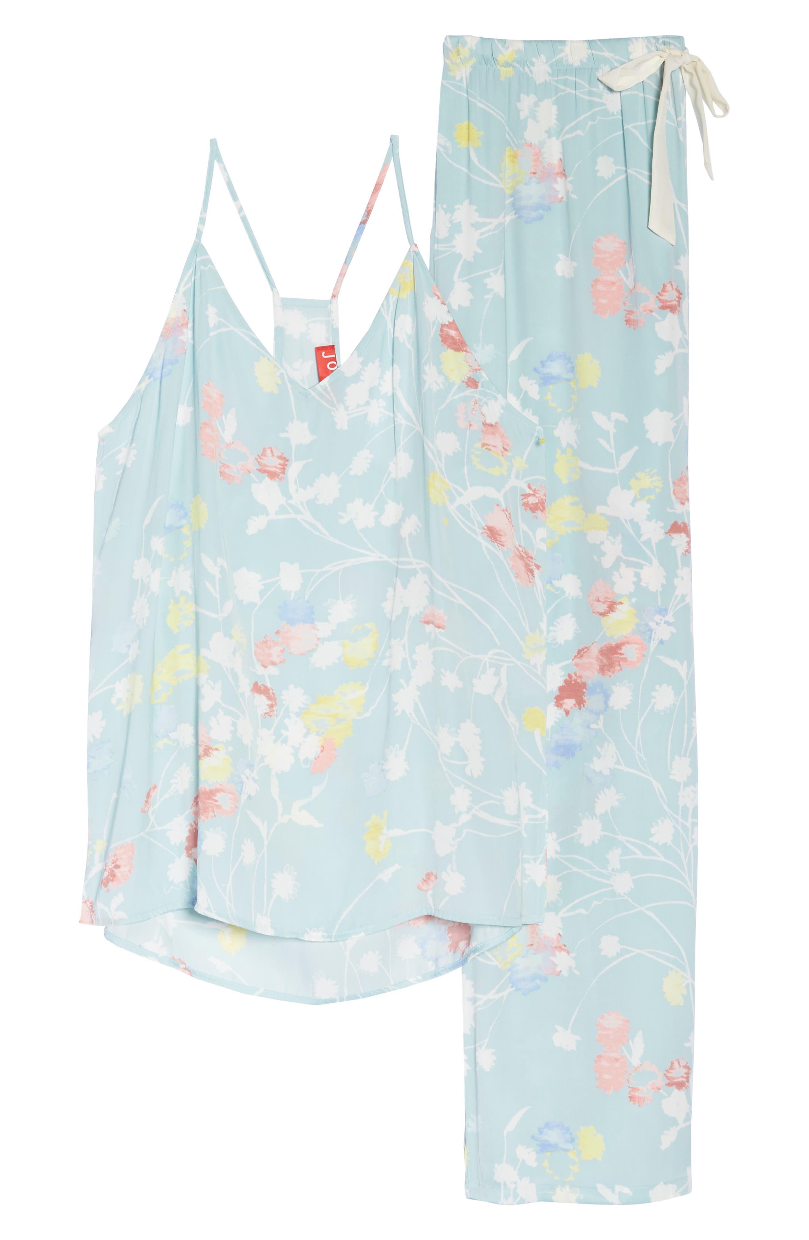 Bardot Dreamland Pajamas,                             Alternate thumbnail 4, color,                             Sgb Seaglass