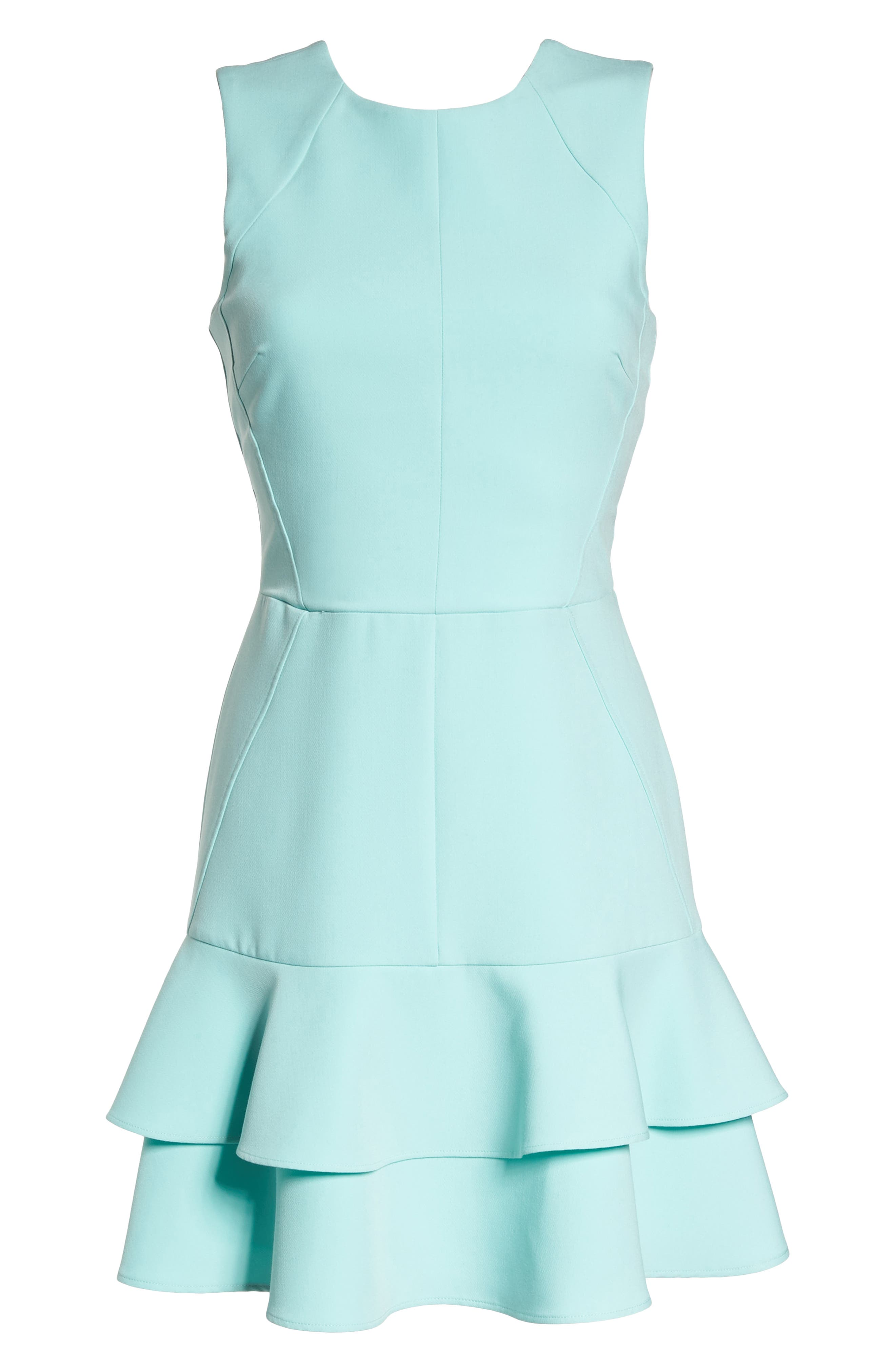 Lavinia Fit & Flare Dress,                             Alternate thumbnail 7, color,                             Mint