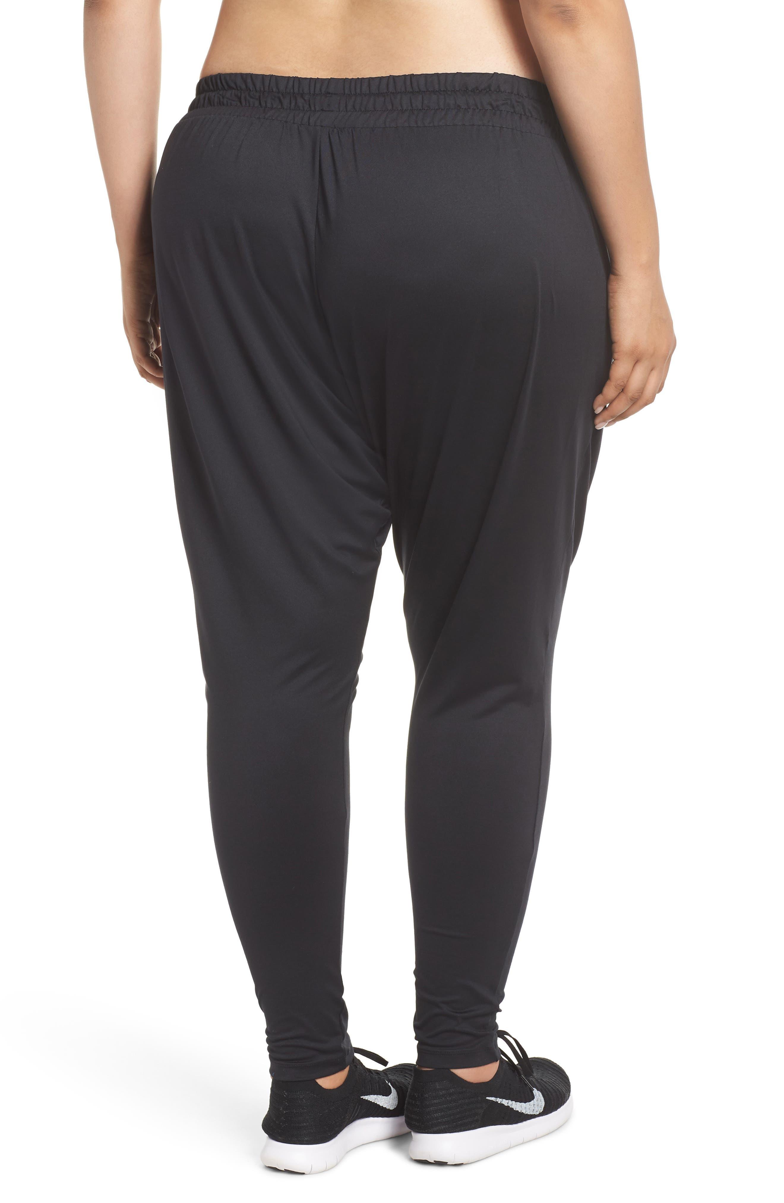 Dry Lux Flow Training Pants,                             Alternate thumbnail 2, color,                             Black/ Clear