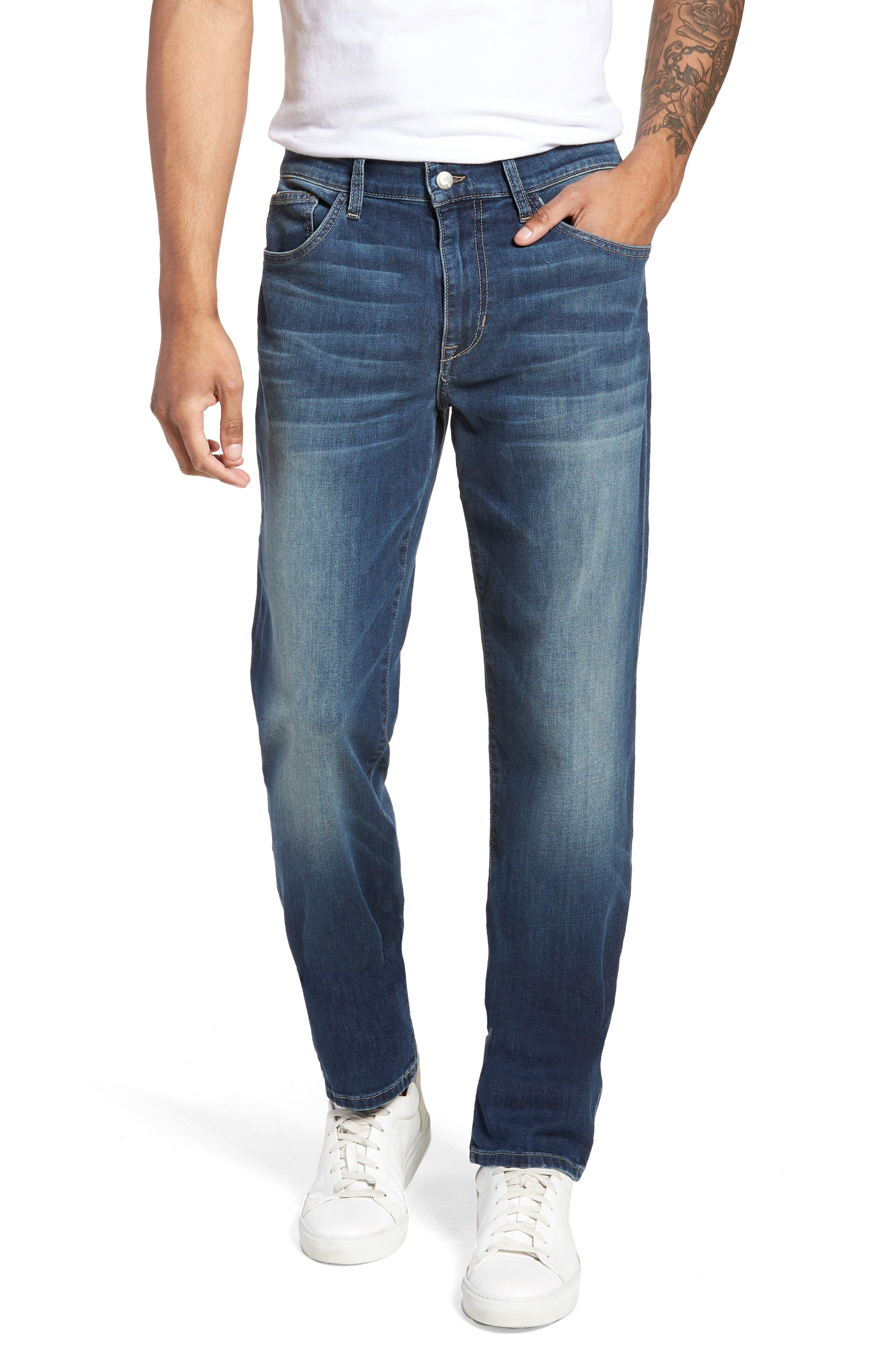 Brixton Slim Straight Fit Jeans,                             Main thumbnail 1, color,                             Brady