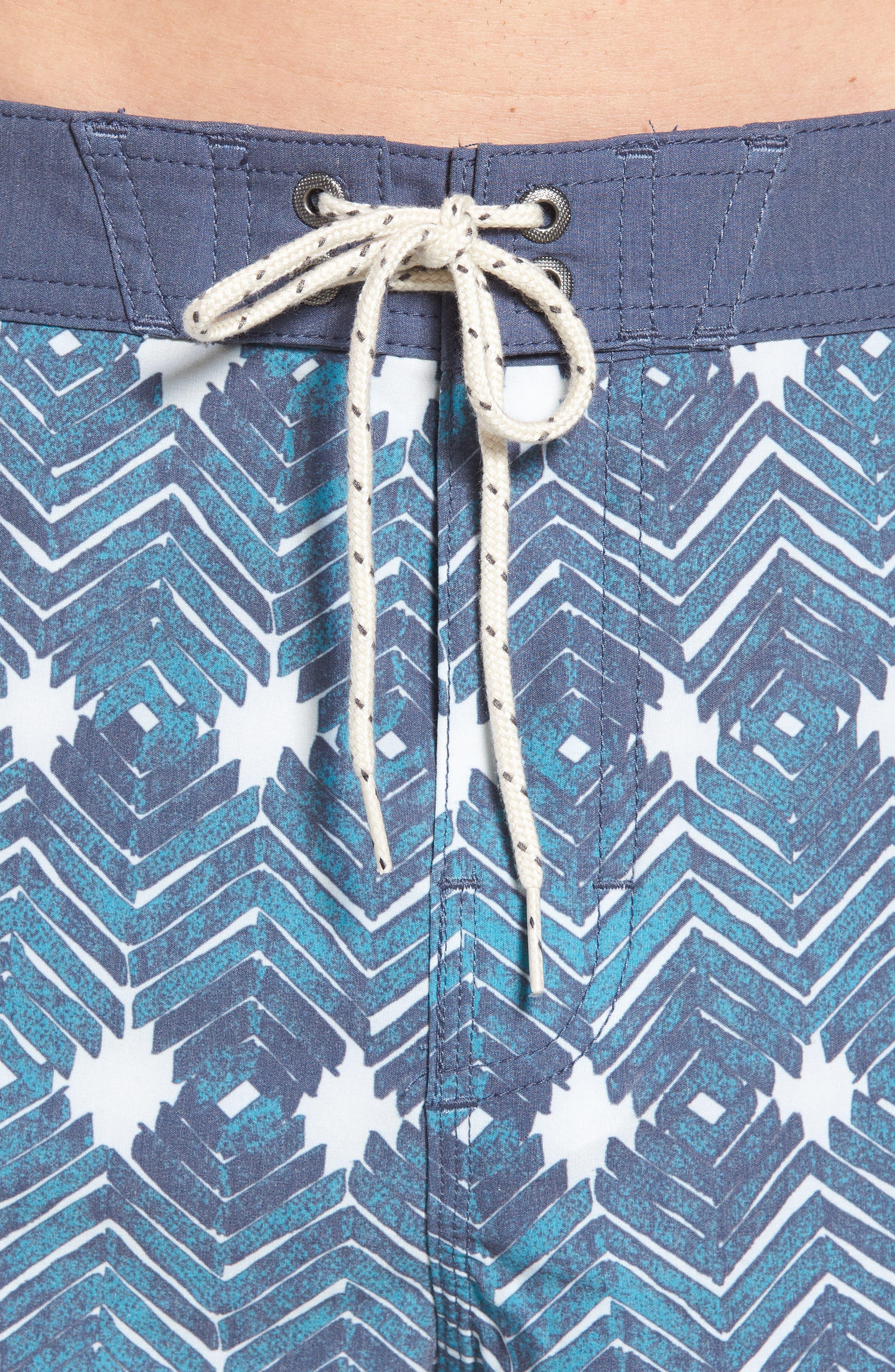 Waterfront Board Shorts,                             Alternate thumbnail 4, color,                             Ocean