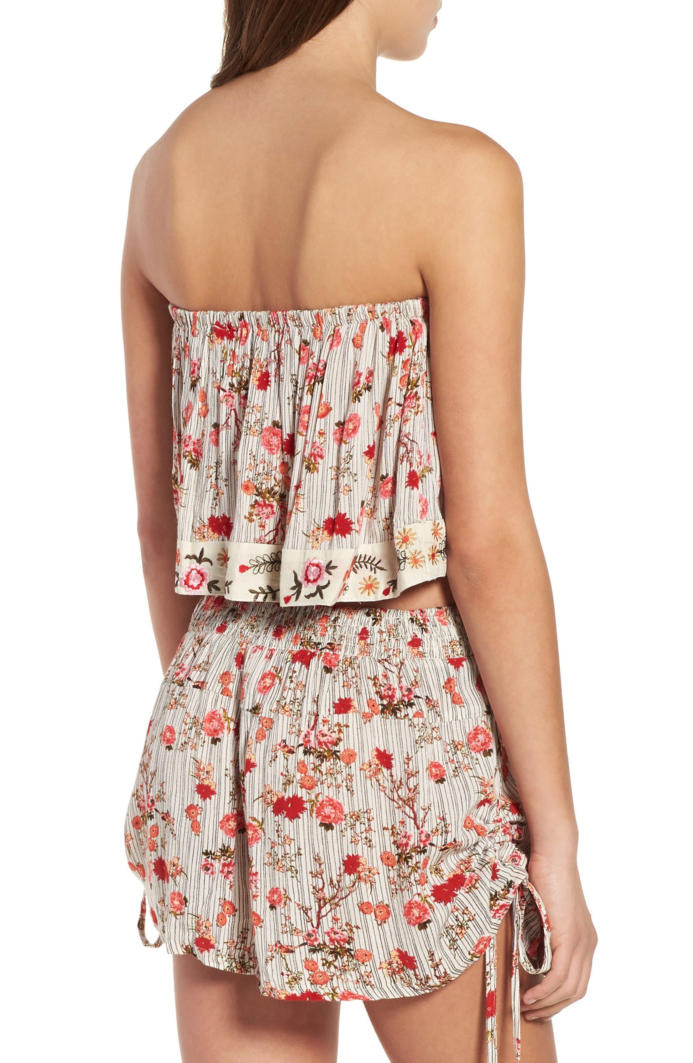 Alternate Image 3  - Raga Primrose Floral Print Shorts