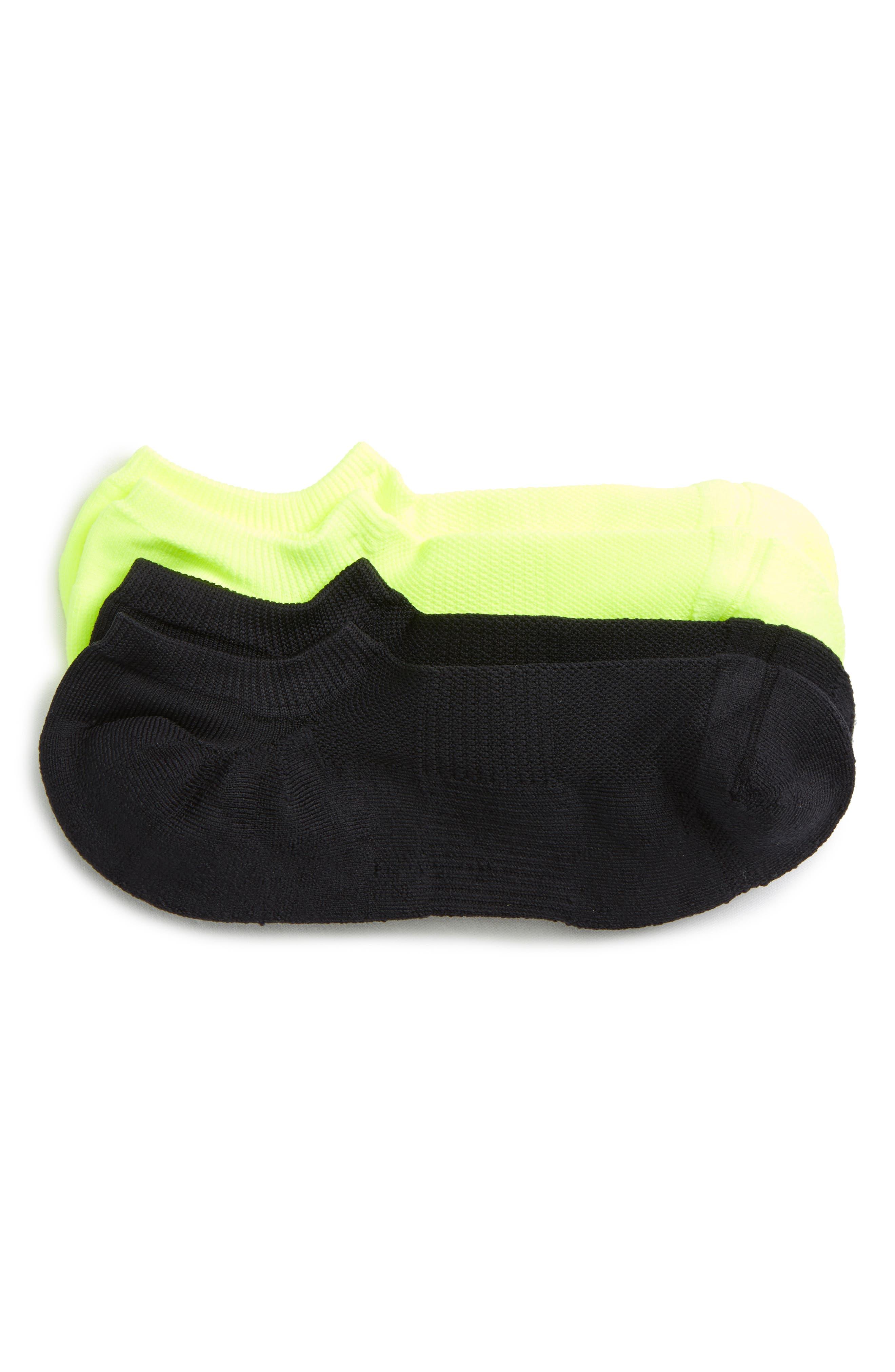 Nordstrom Men's Shop Tech-Smart 2-Pack No-Show Socks