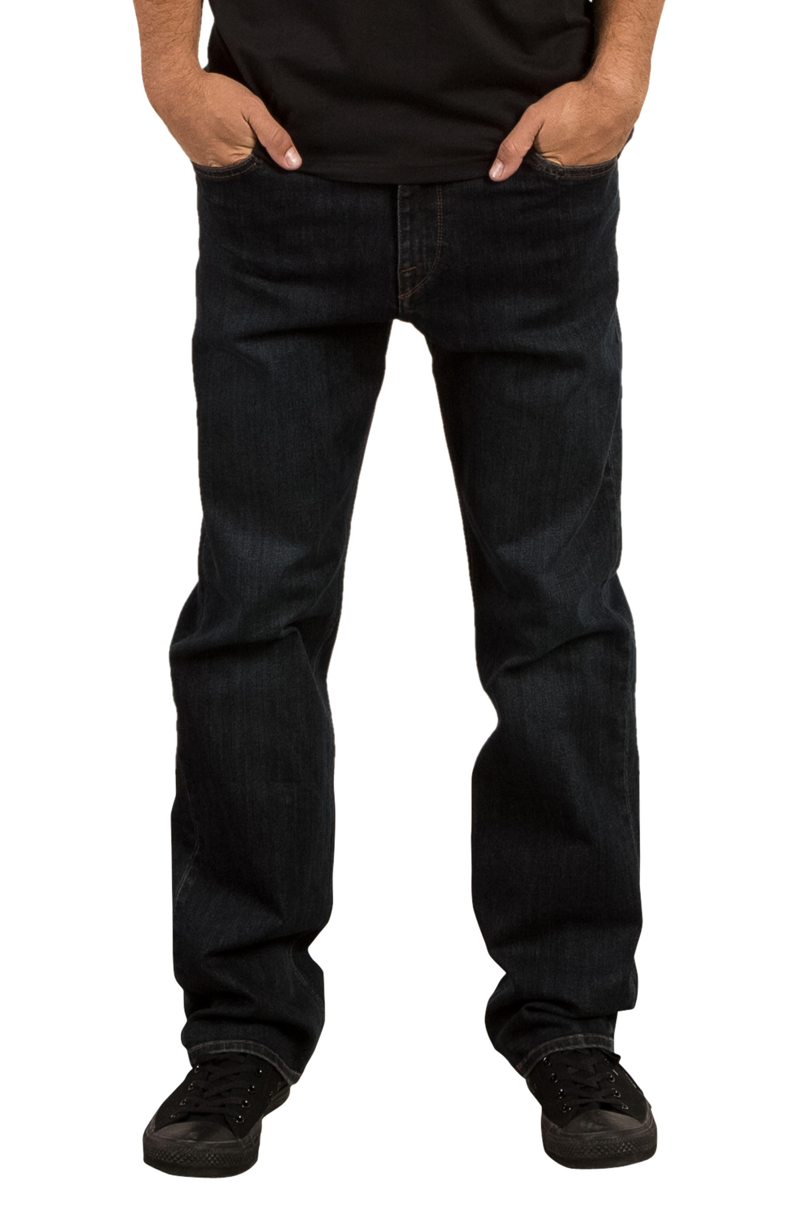 Kinkade Slim Fit Jeans,                             Main thumbnail 1, color,                             Blue Vent