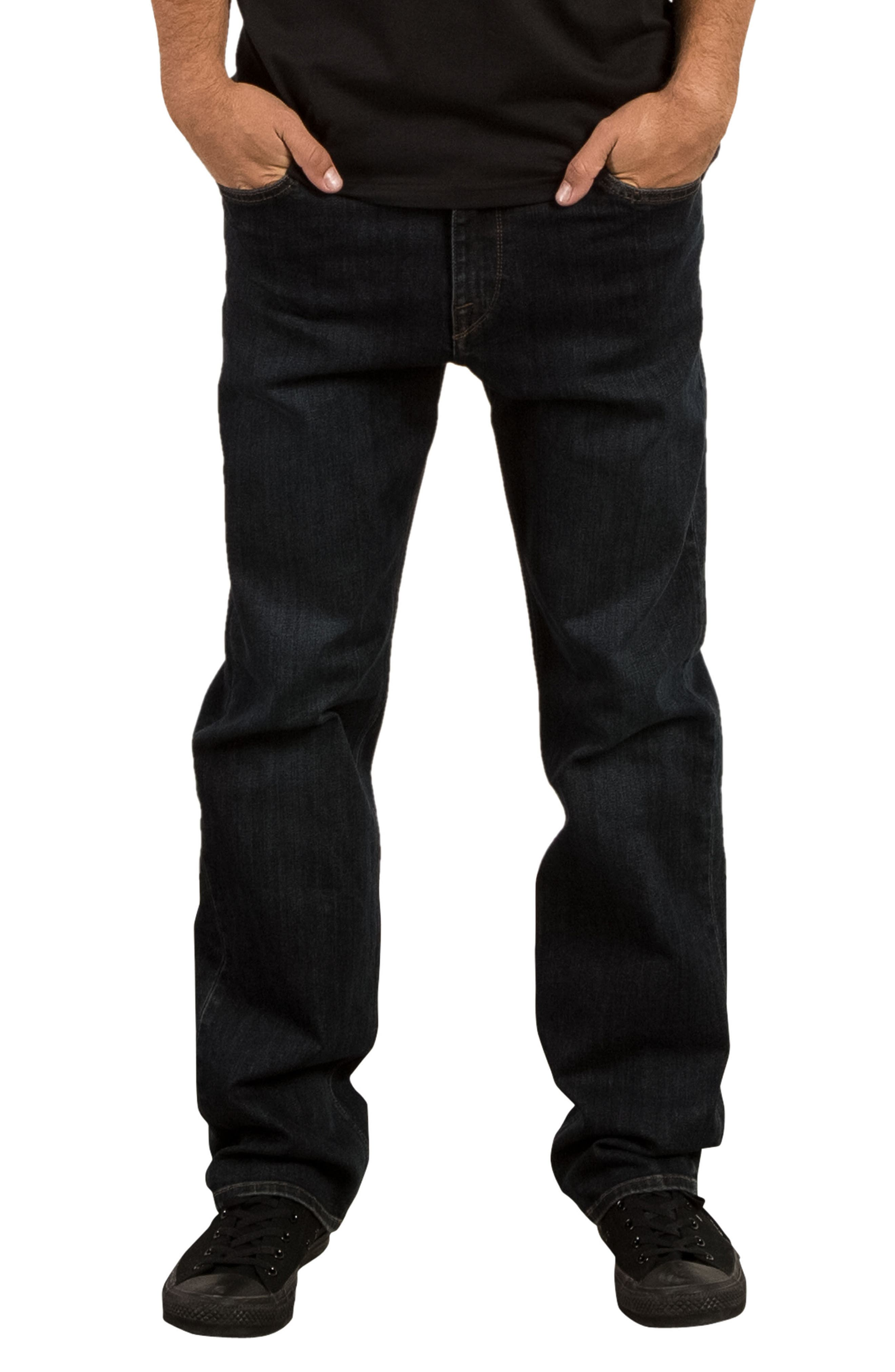 Kinkade Slim Fit Jeans,                         Main,                         color, Blue Vent