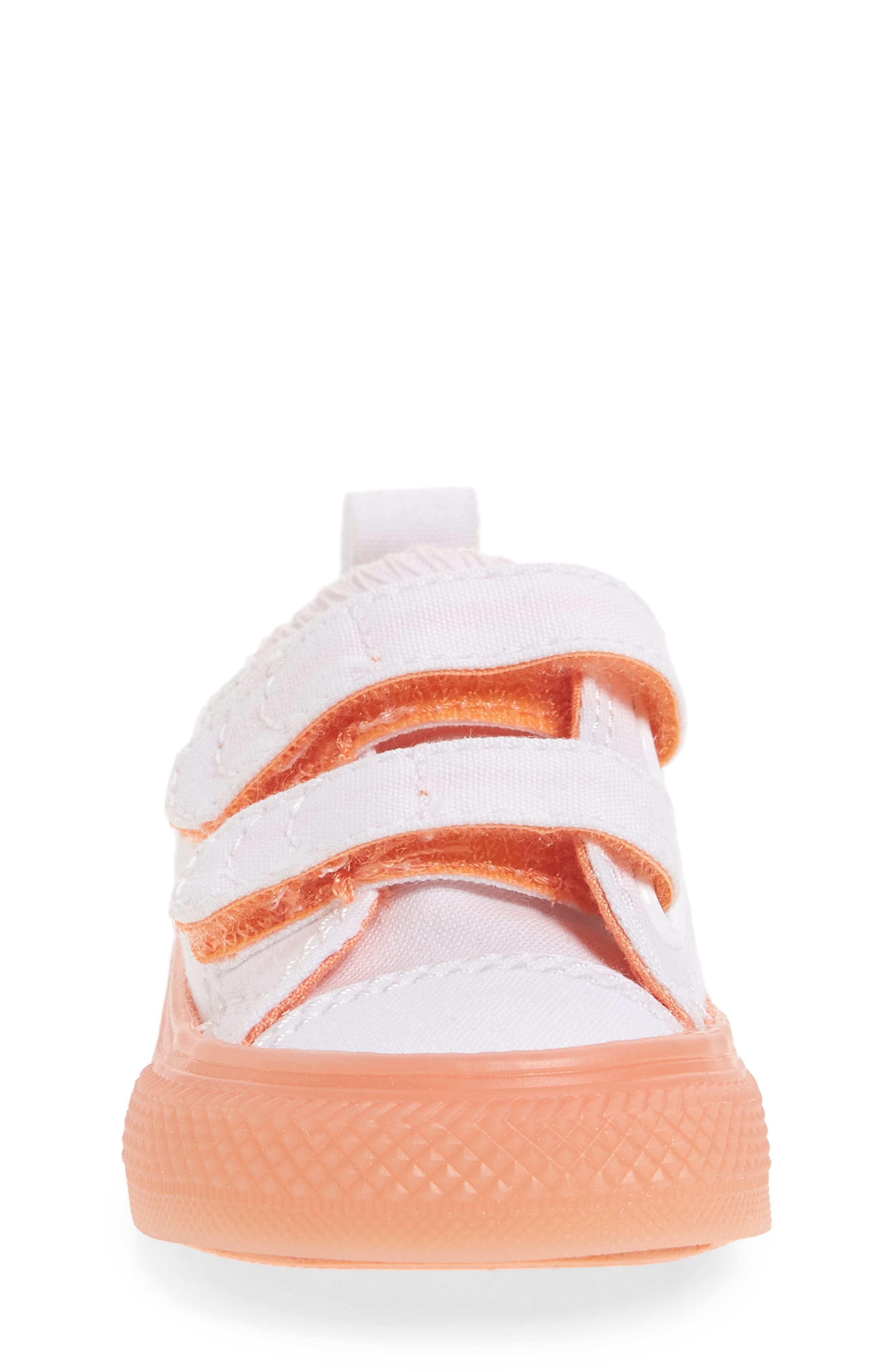 Chuck Taylor<sup>®</sup> All Star<sup>®</sup> Jelly Sneaker,                             Alternate thumbnail 4, color,                             Orange