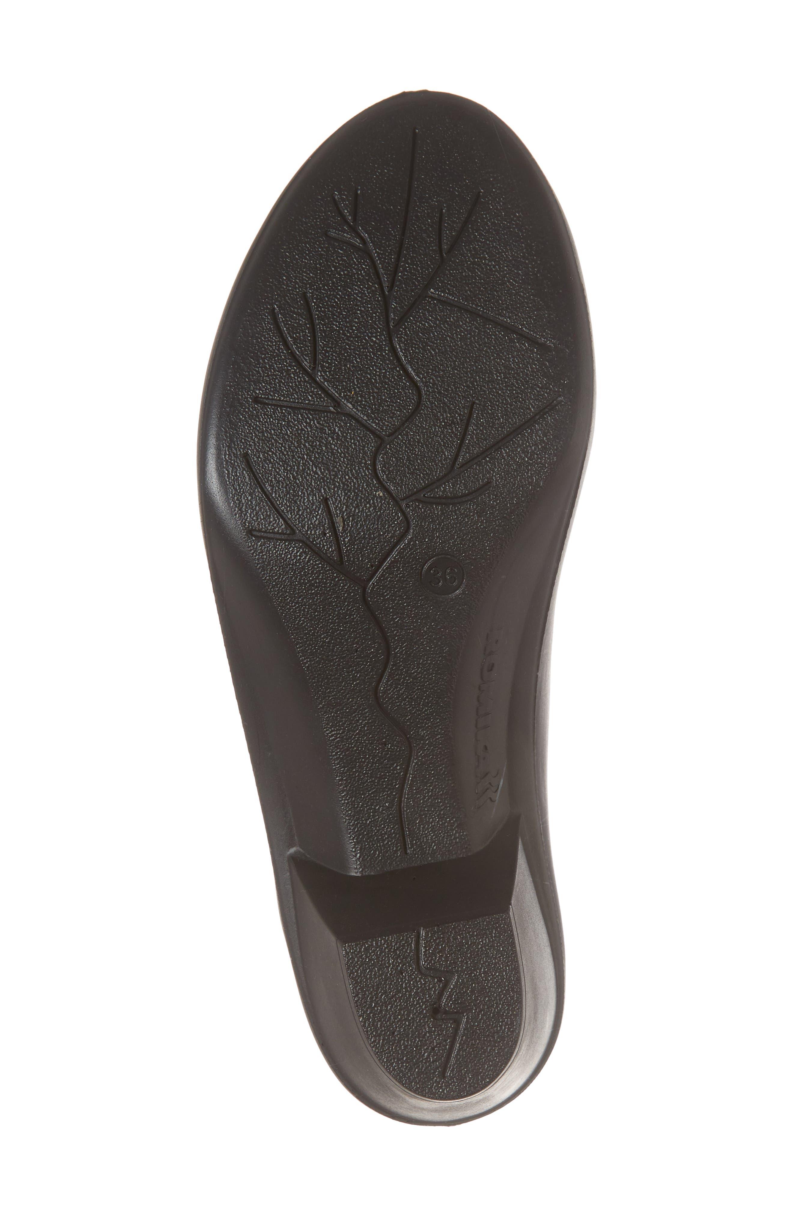 Mokassetta 326 Mule,                             Alternate thumbnail 6, color,                             Black Leather