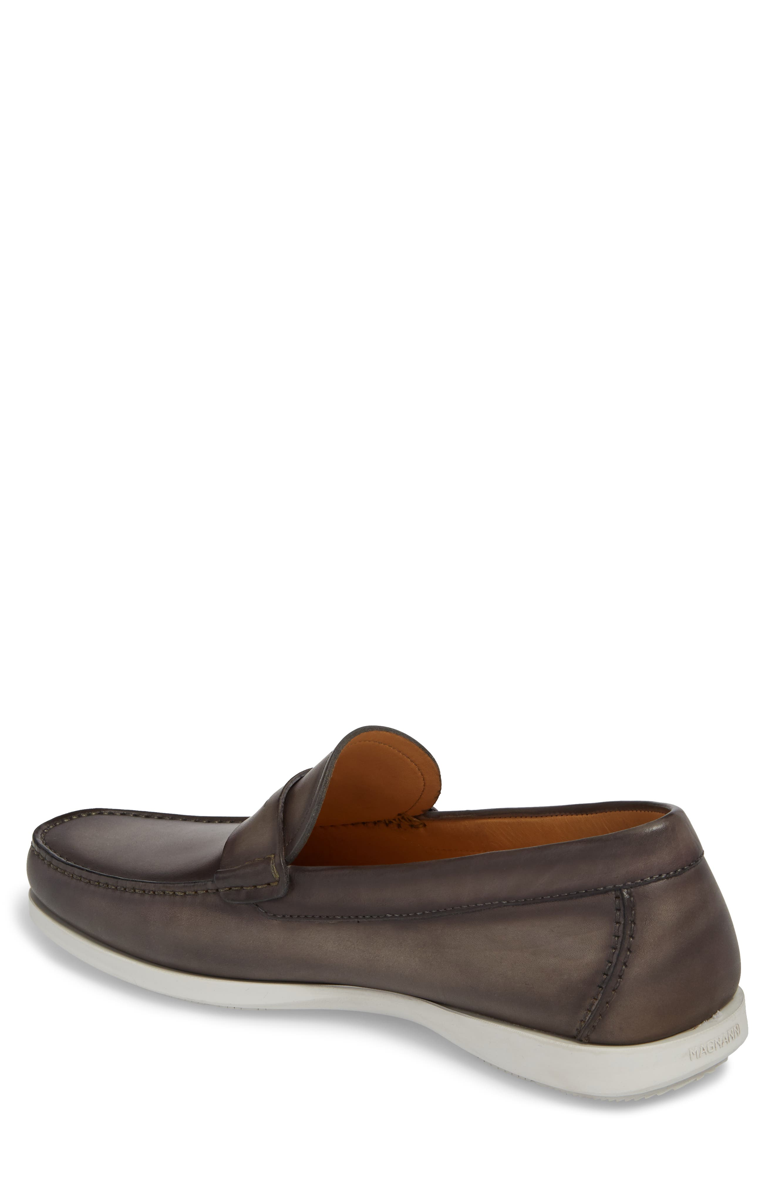 Laguna Penny Loafer,                             Alternate thumbnail 2, color,                             Grey Leather