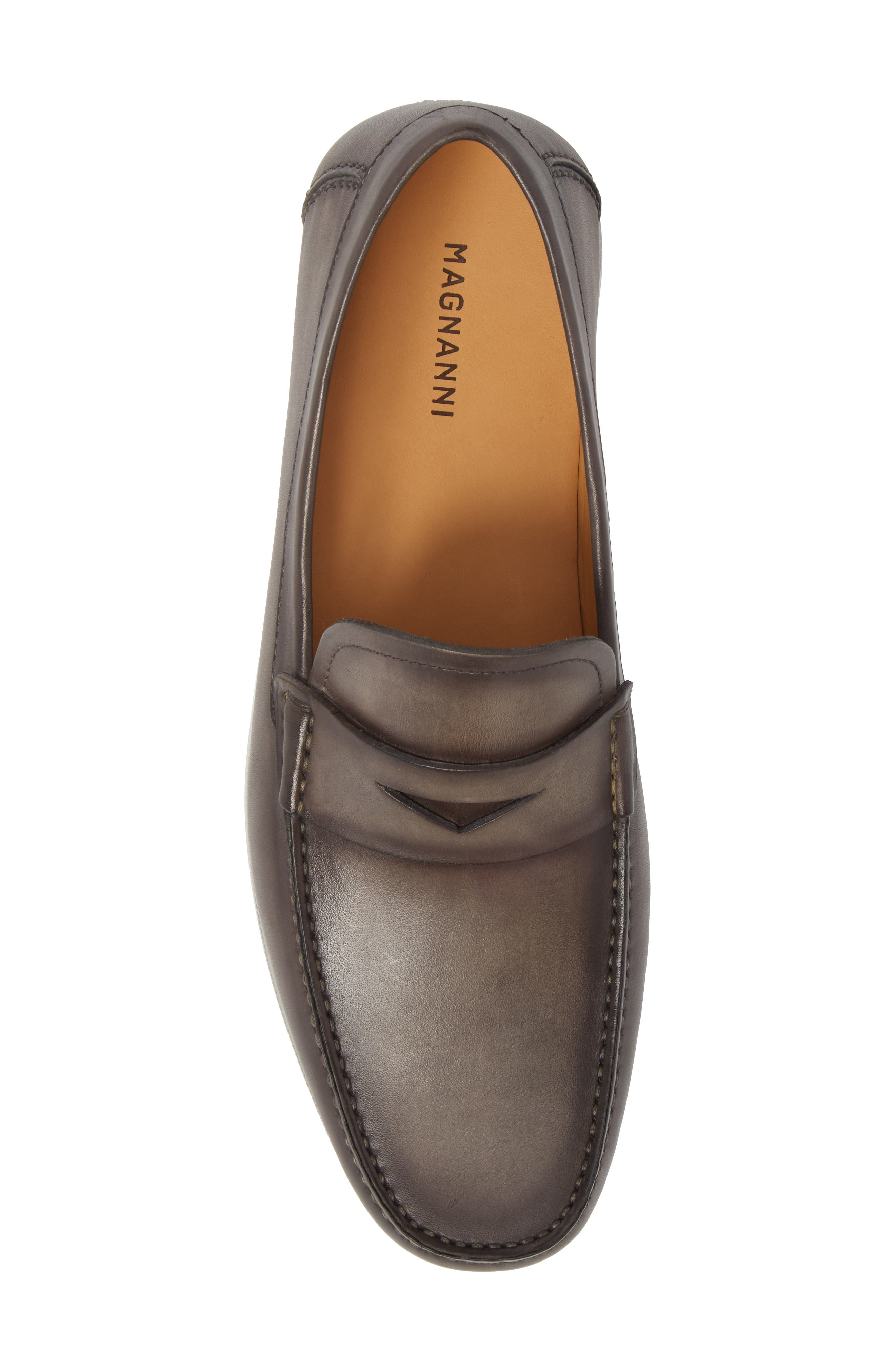 Laguna Penny Loafer,                             Alternate thumbnail 5, color,                             Grey Leather