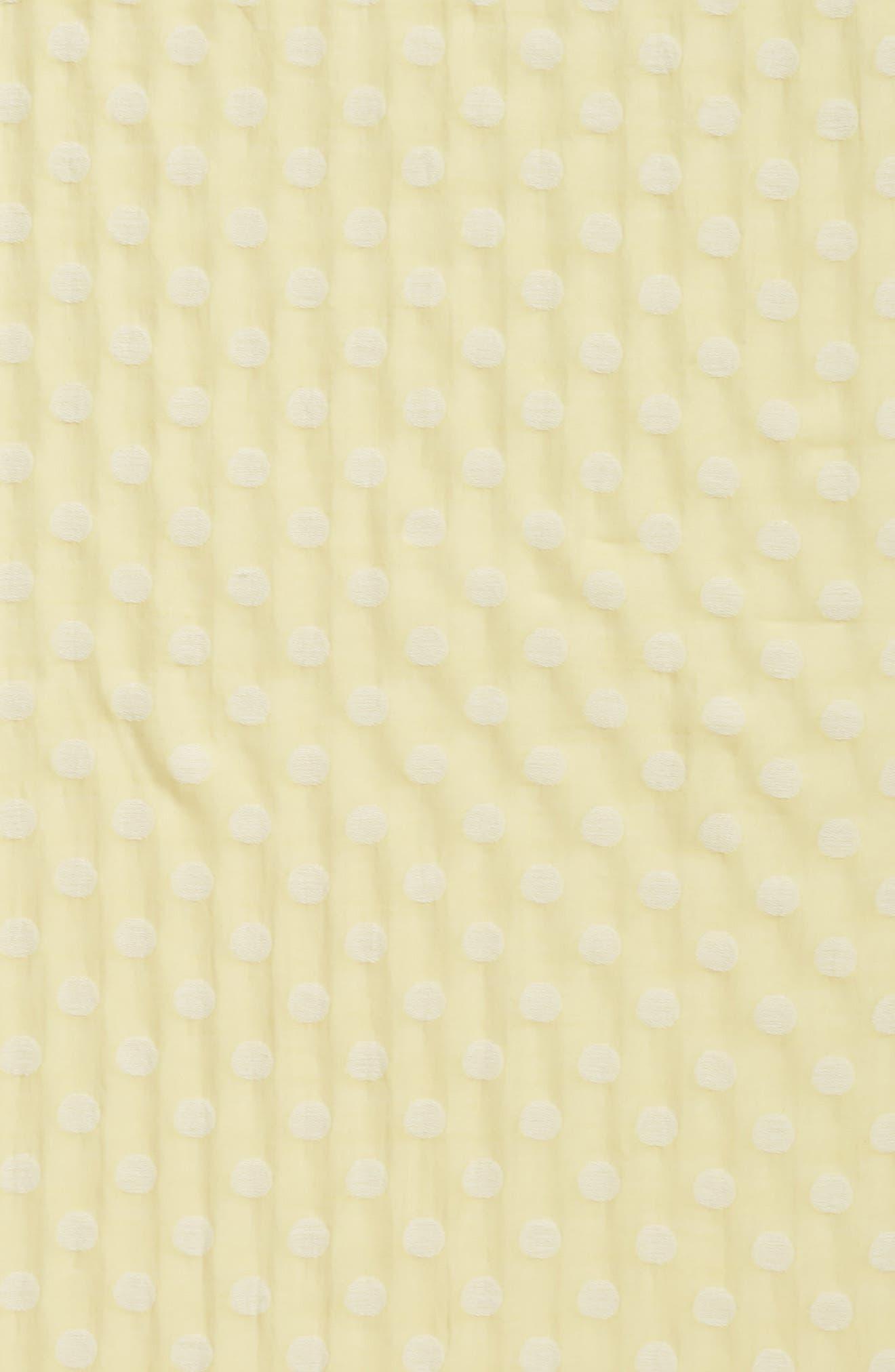 Clip Dot Scarf,                             Alternate thumbnail 4, color,                             Yarrow