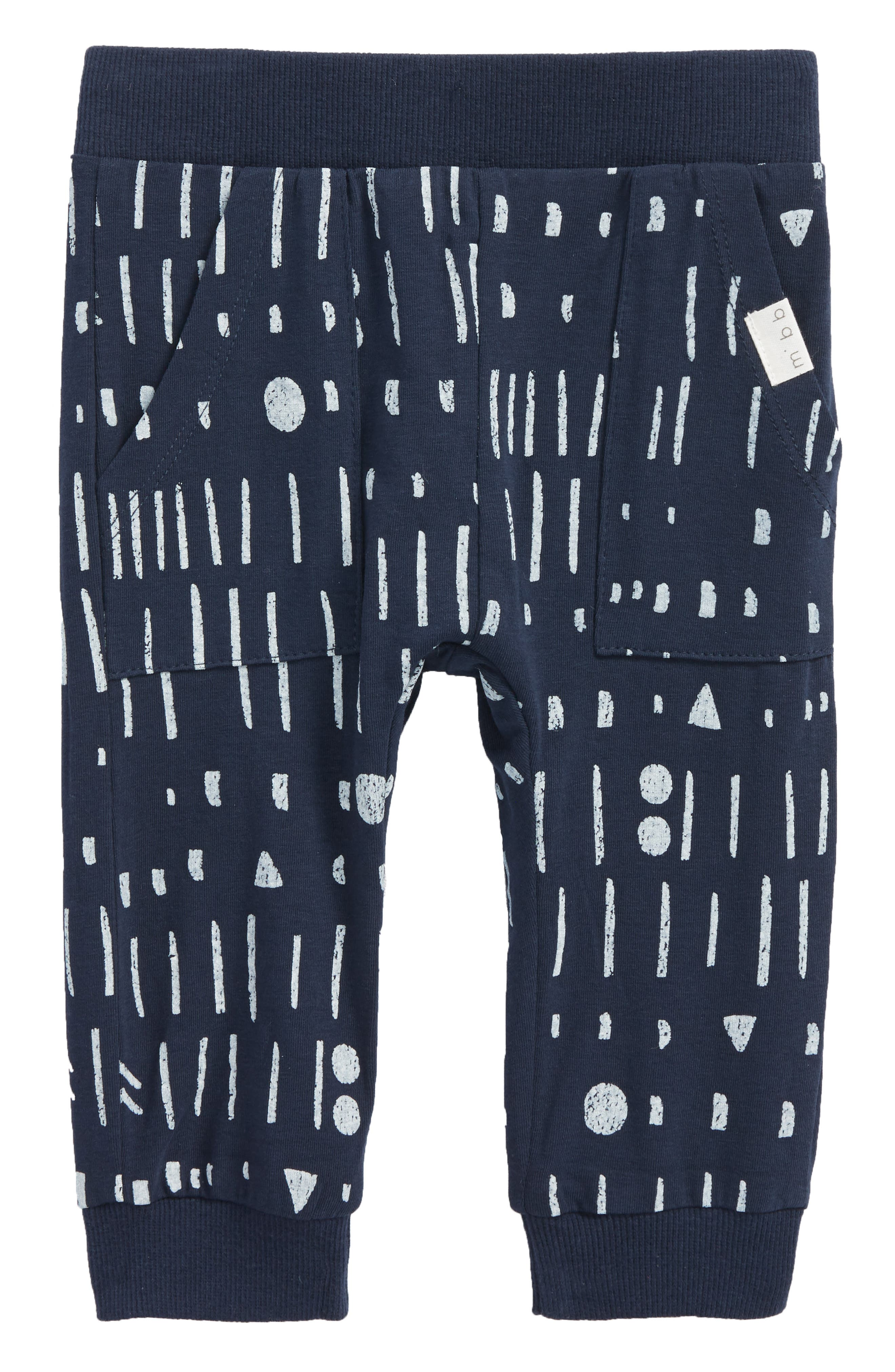 Alternate Image 1 Selected - Miles Baby Jogger Pants (Baby)