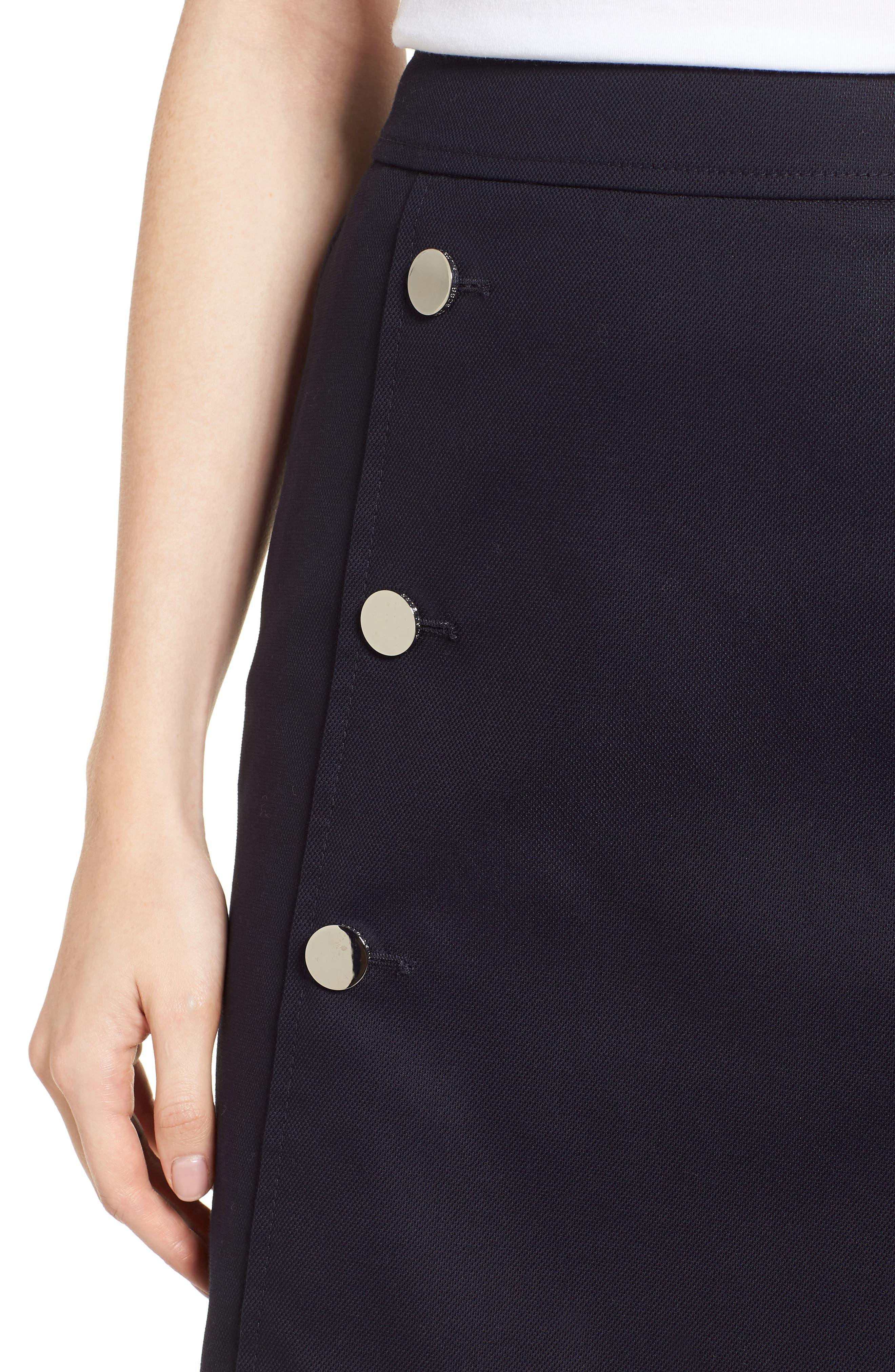 Valareama Sailor Skirt,                             Alternate thumbnail 4, color,                             Navy