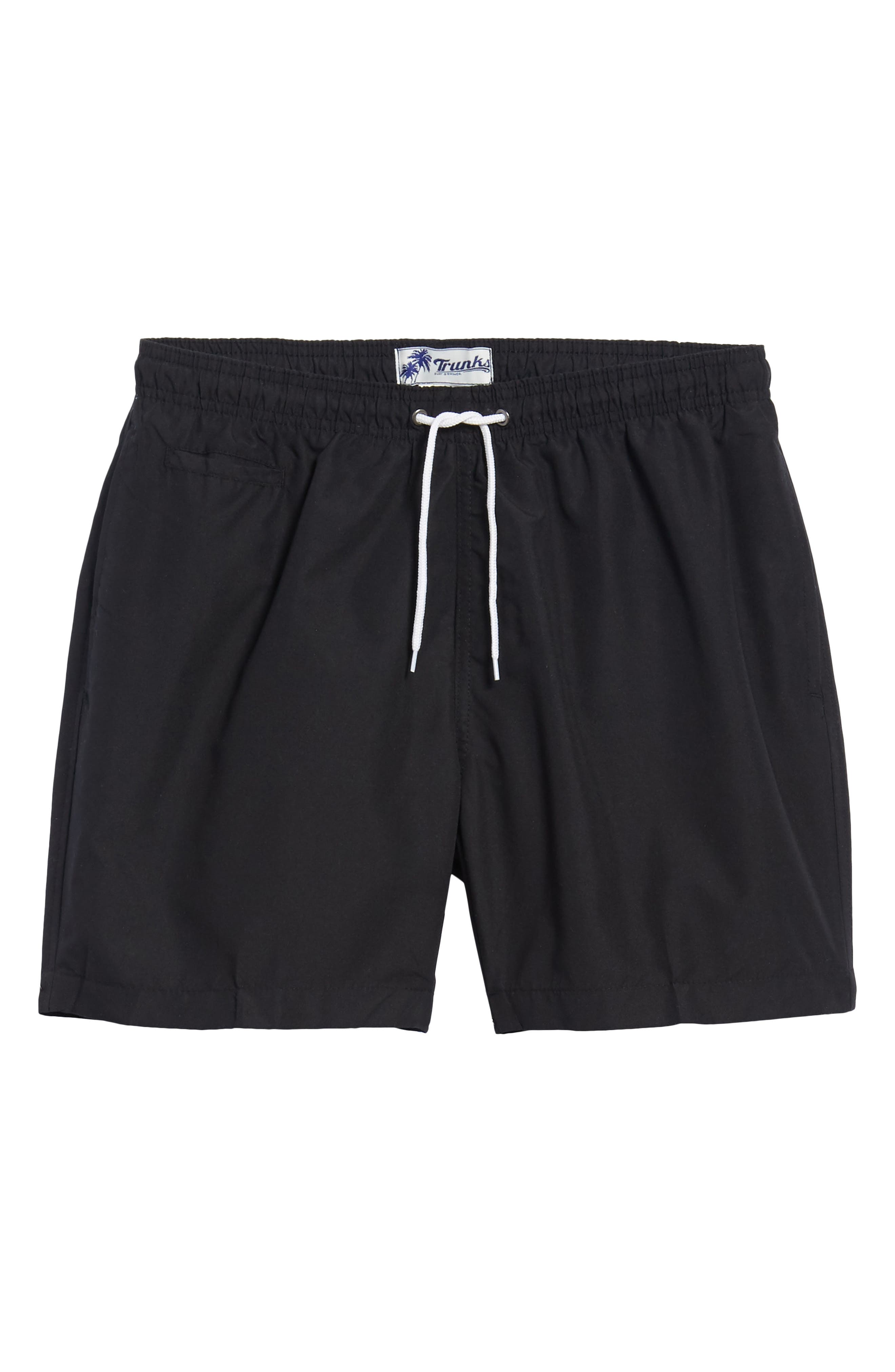 Trunks Surf & Swim 'San O' Volley Swim Shorts,                         Main,                         color, Black