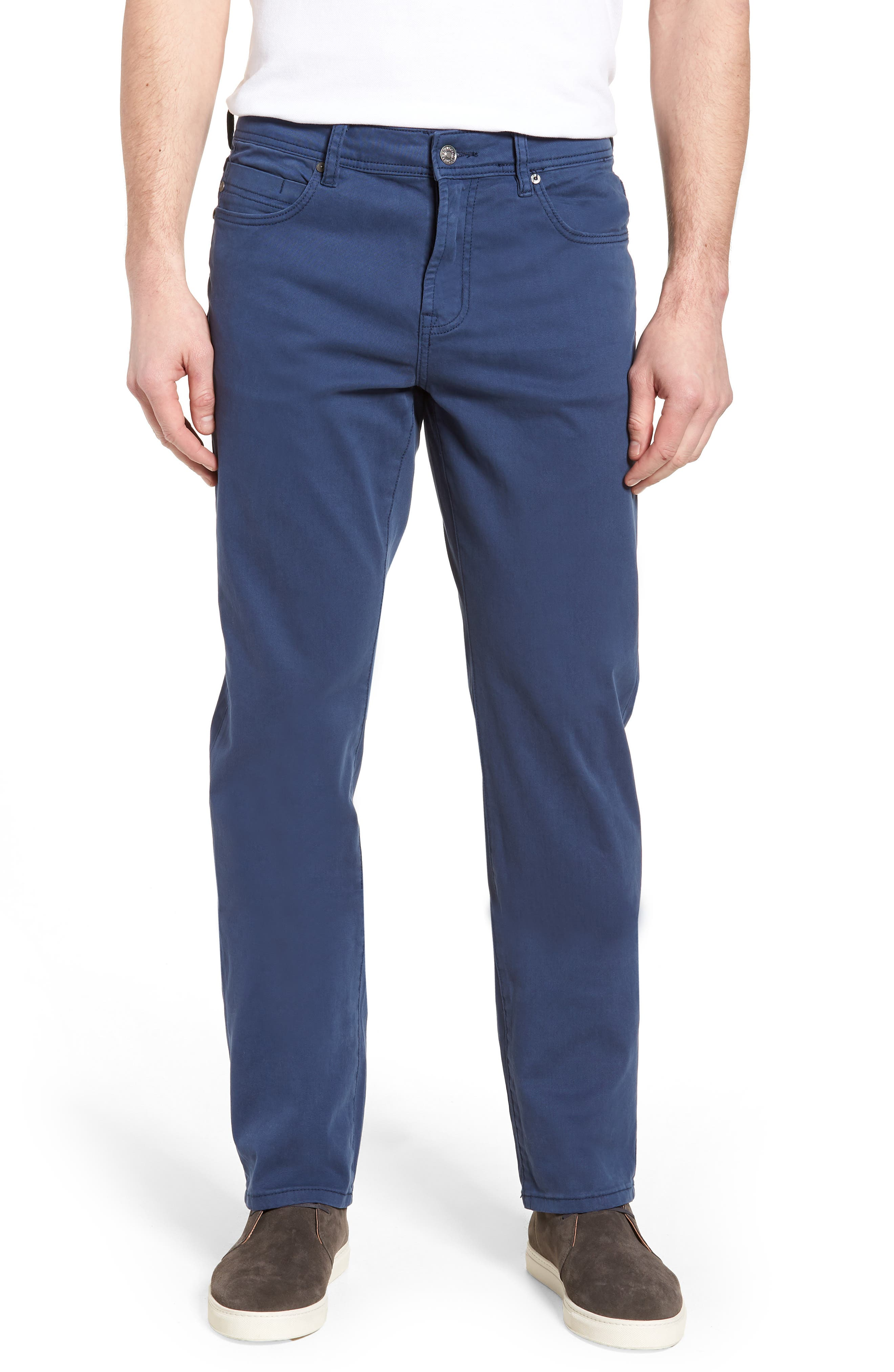 Jeans Co. Regent Relaxed Straight Leg Jeans,                         Main,                         color, Blue Twilight