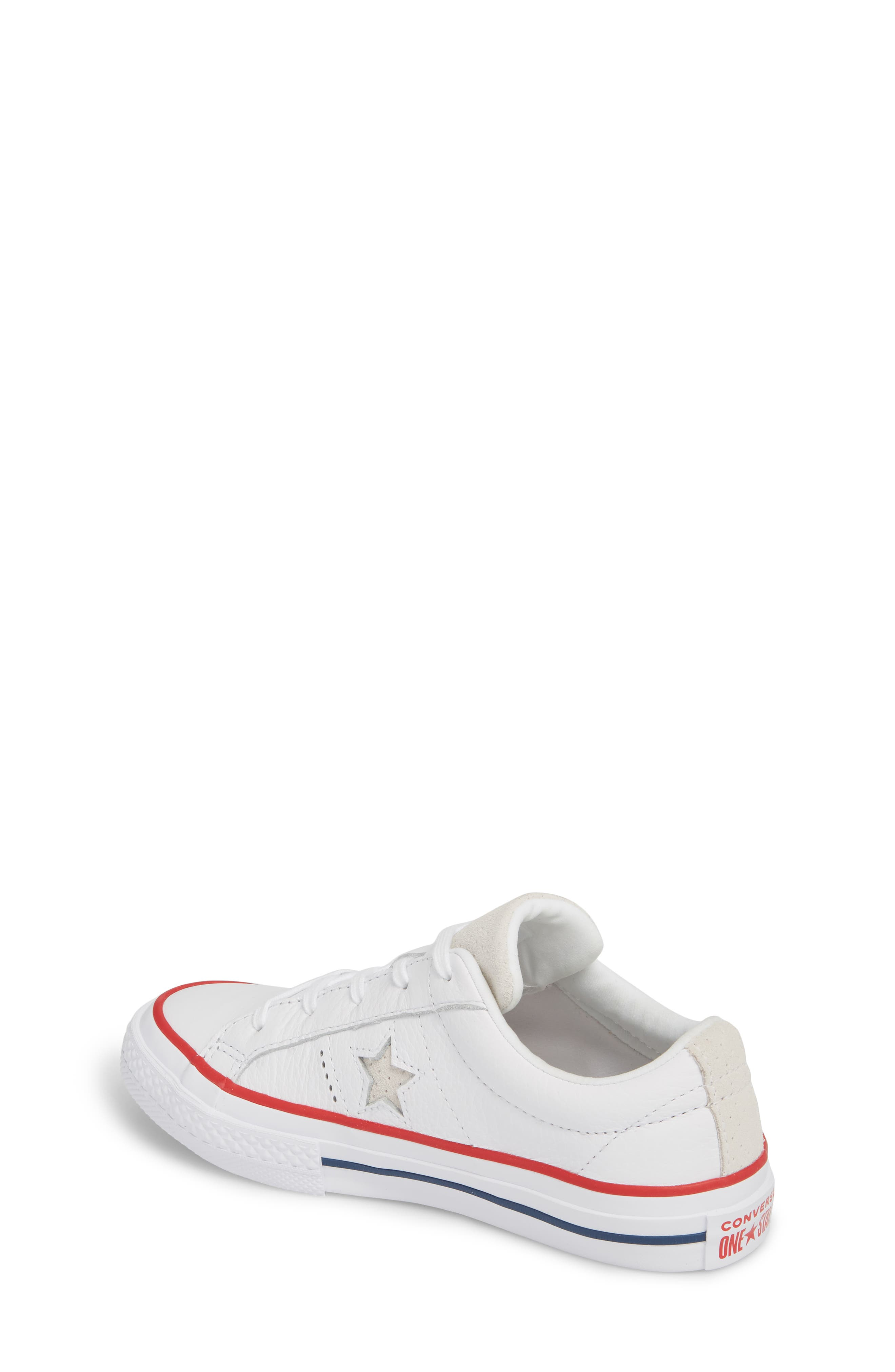 Chuck Taylor<sup>®</sup> All Star<sup>®</sup> New Heritage Oxford Sneaker,                             Alternate thumbnail 2, color,                             White