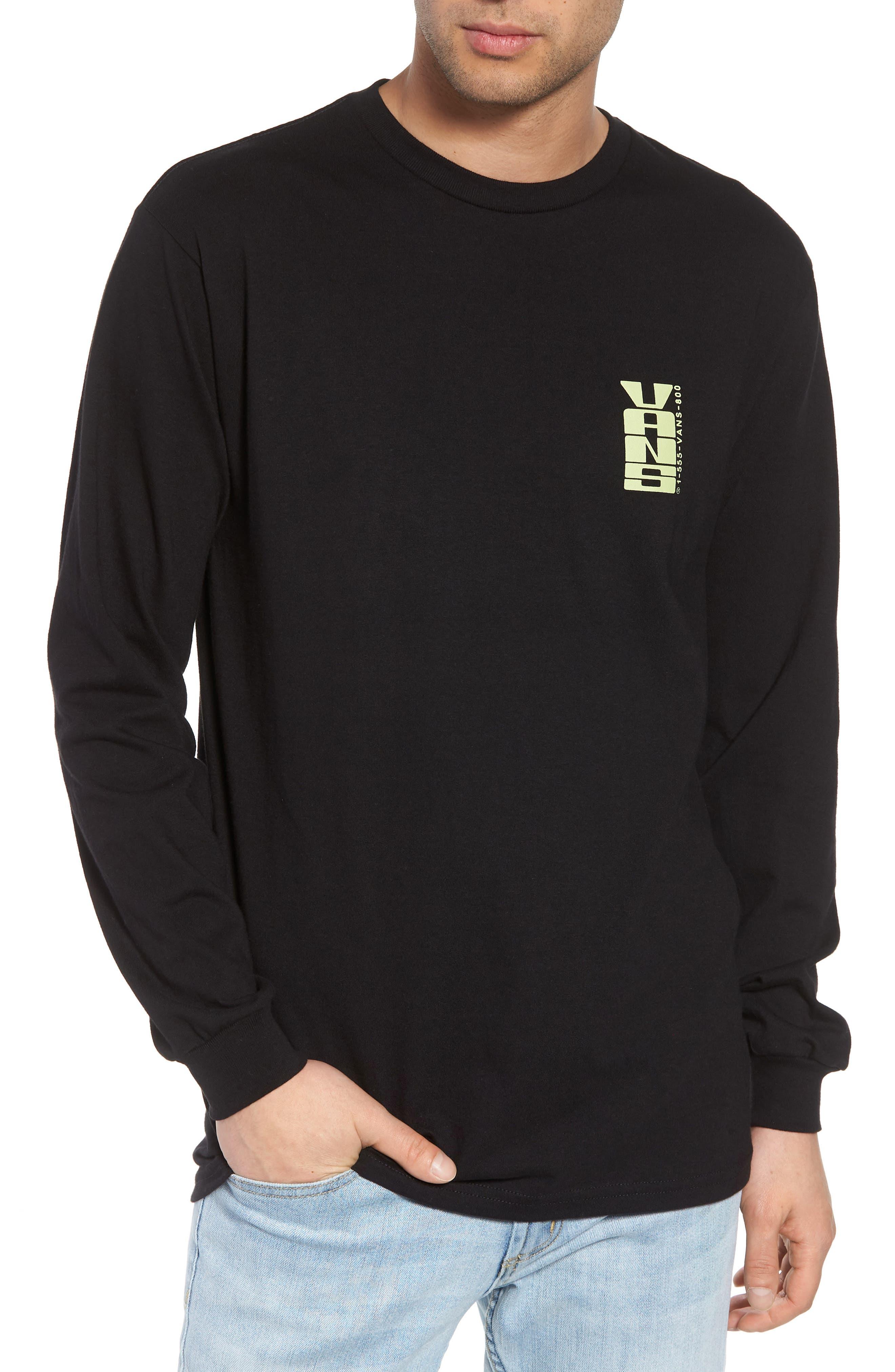 Everyday Vacay Graphic T-Shirt,                             Main thumbnail 1, color,                             Black