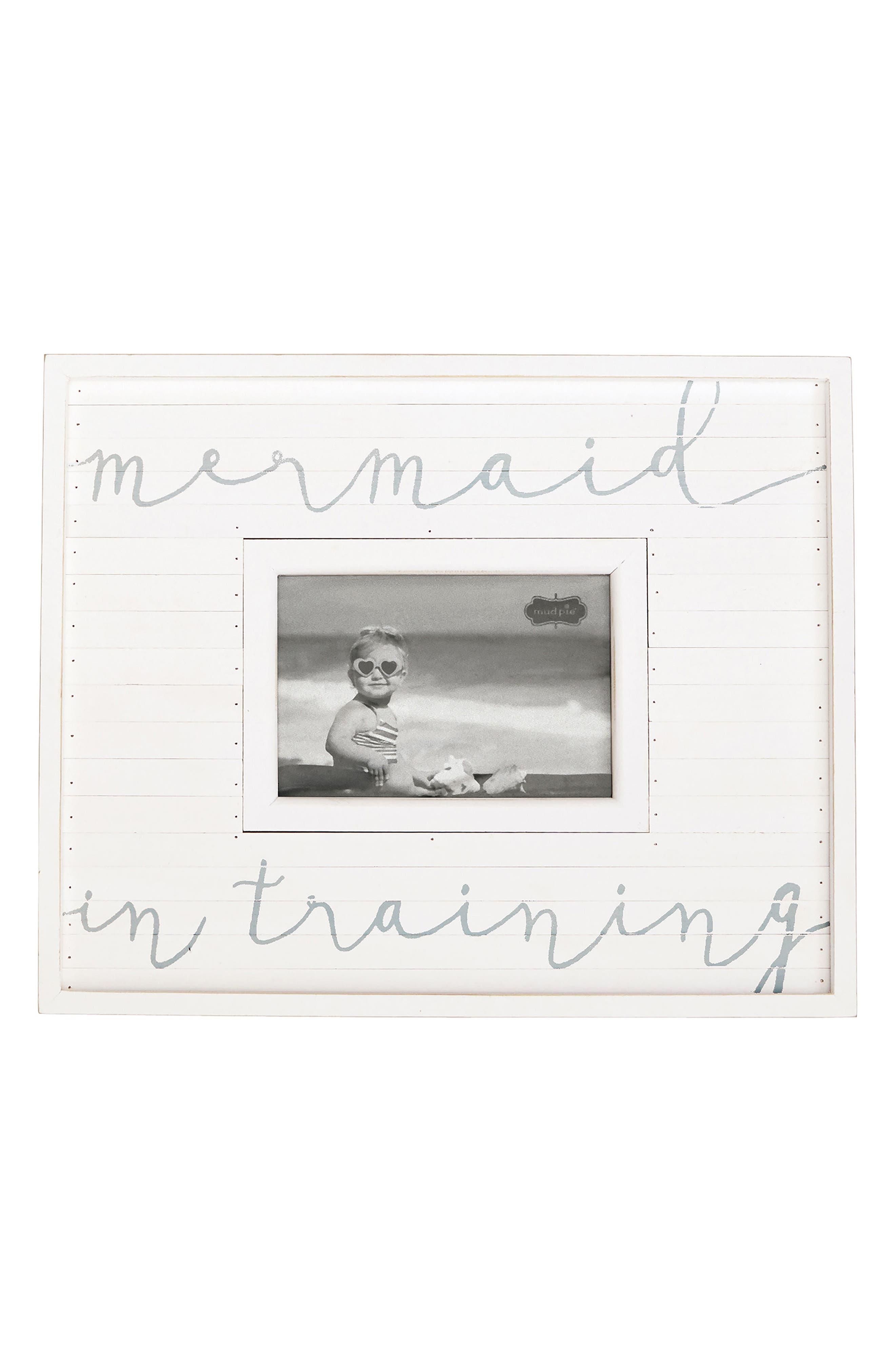 Mud Pie Mermaid In Training Picture Frame