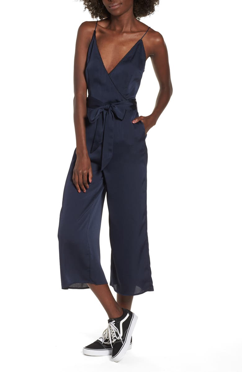 Moonlit Satin Jumpsuit