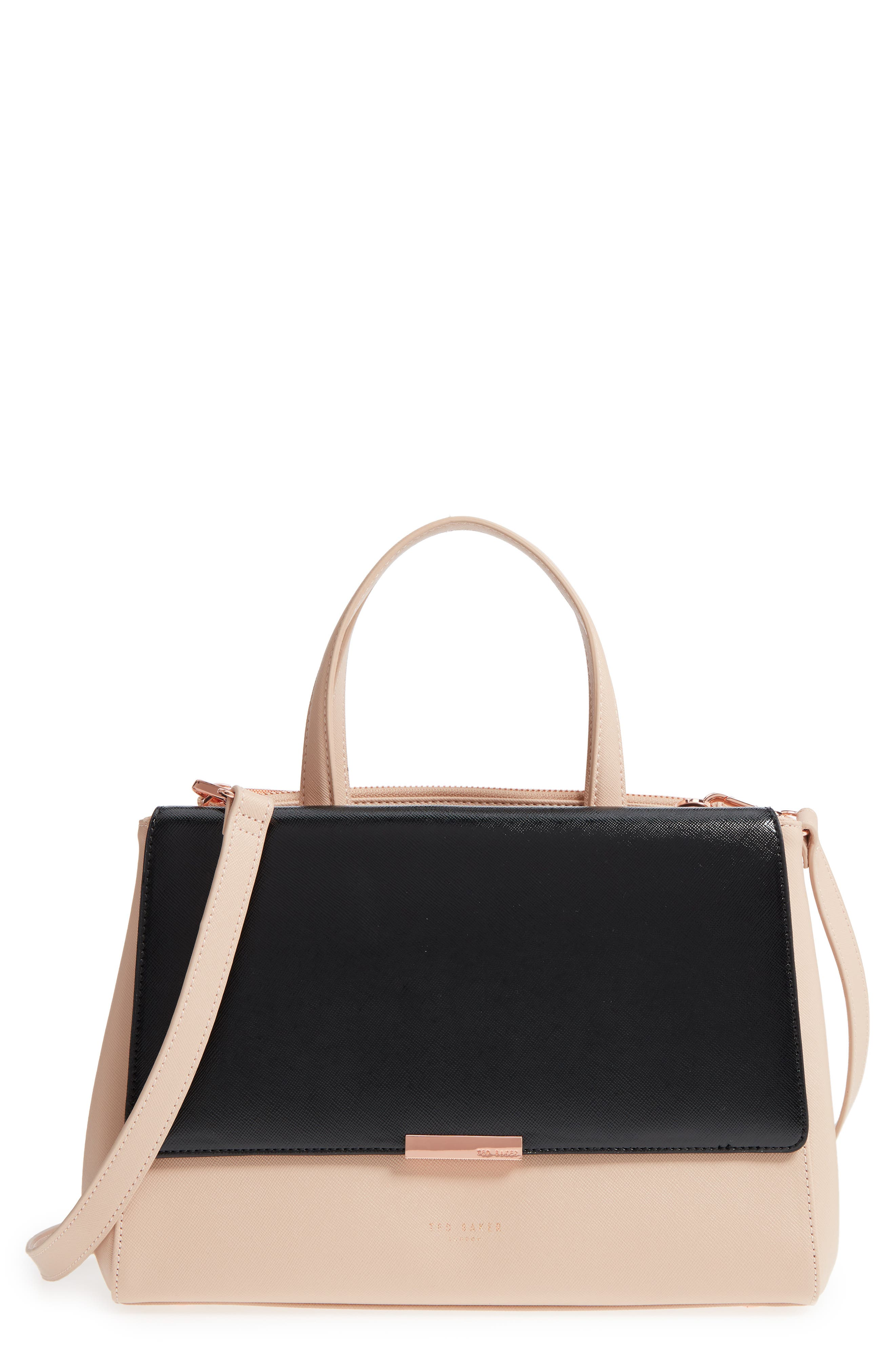 Ted Baker London Dadelph Faux Leather Satchel