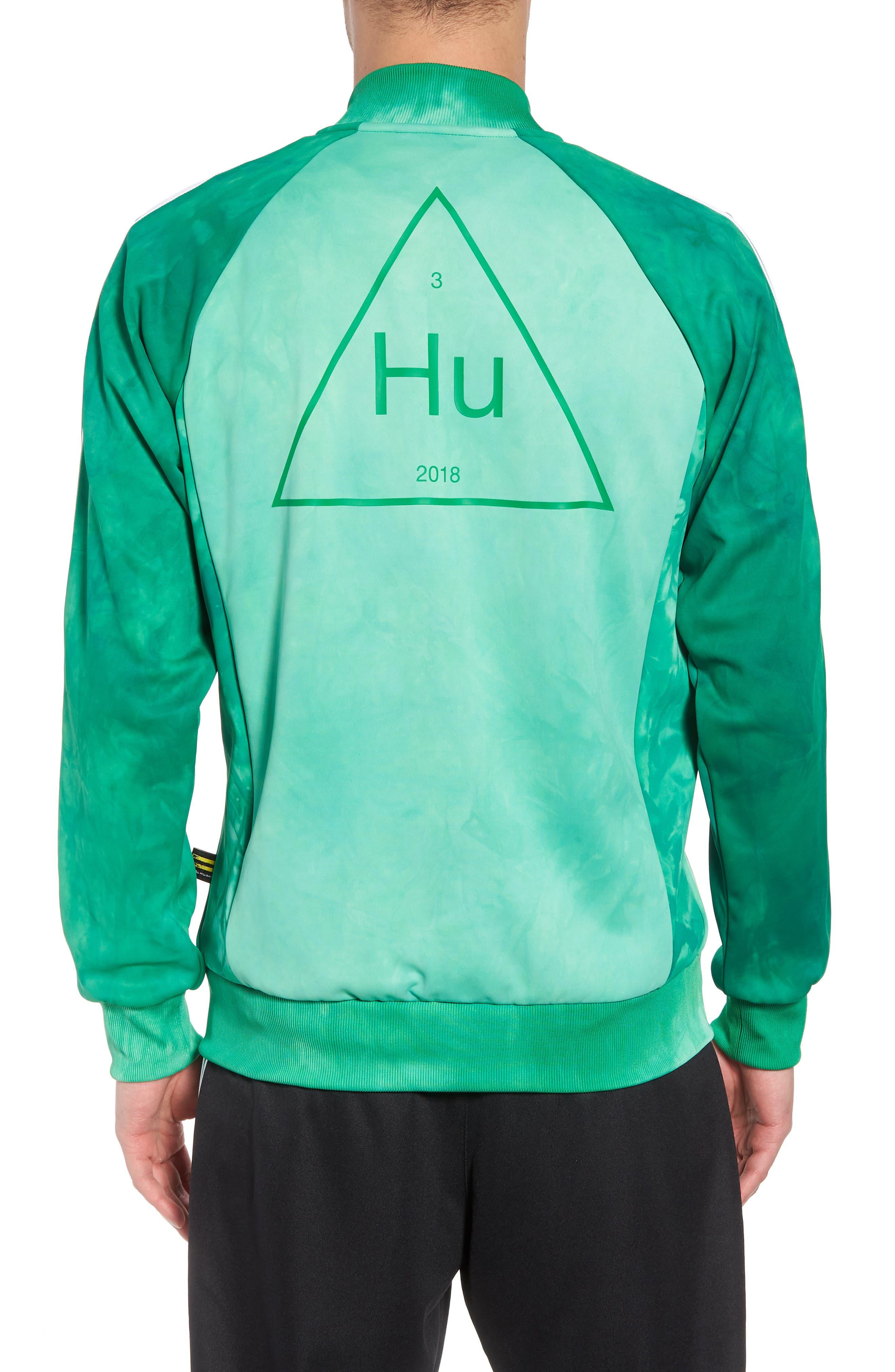 Hu Holi Track Jacket,                             Alternate thumbnail 2, color,                             Green