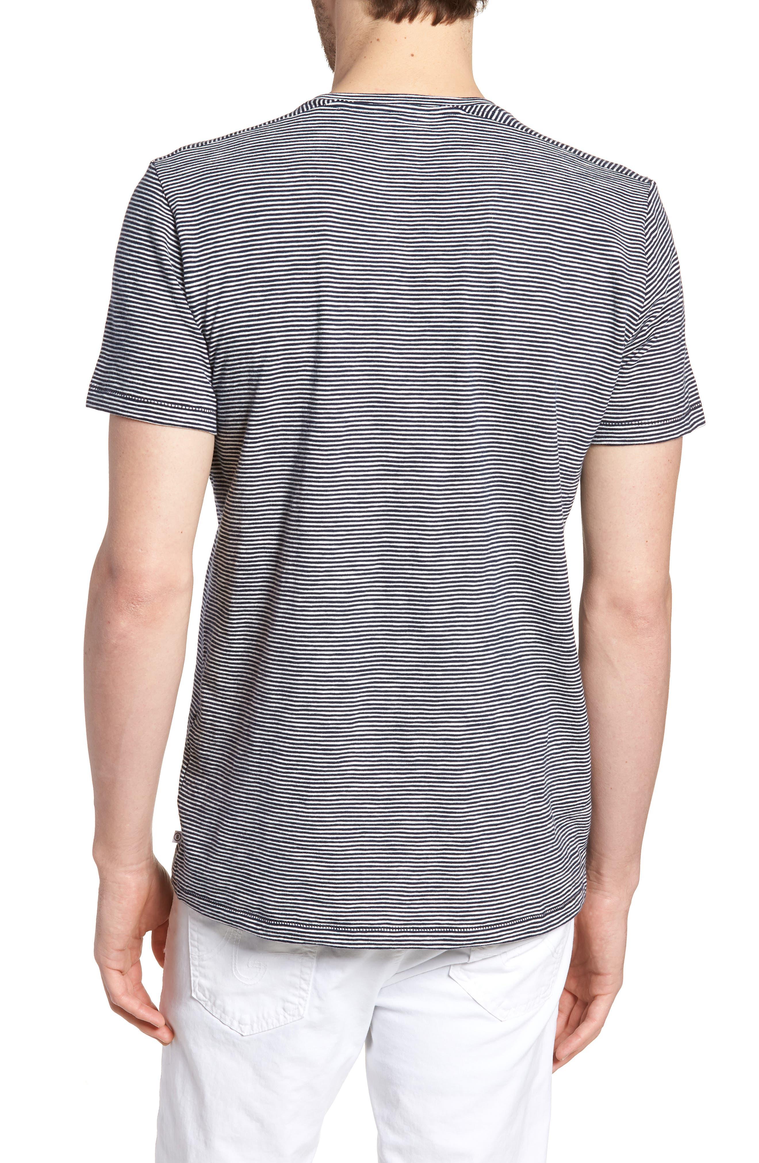 Stripe T-Shirt,                             Alternate thumbnail 2, color,                             Paddleboard Stripe Tee