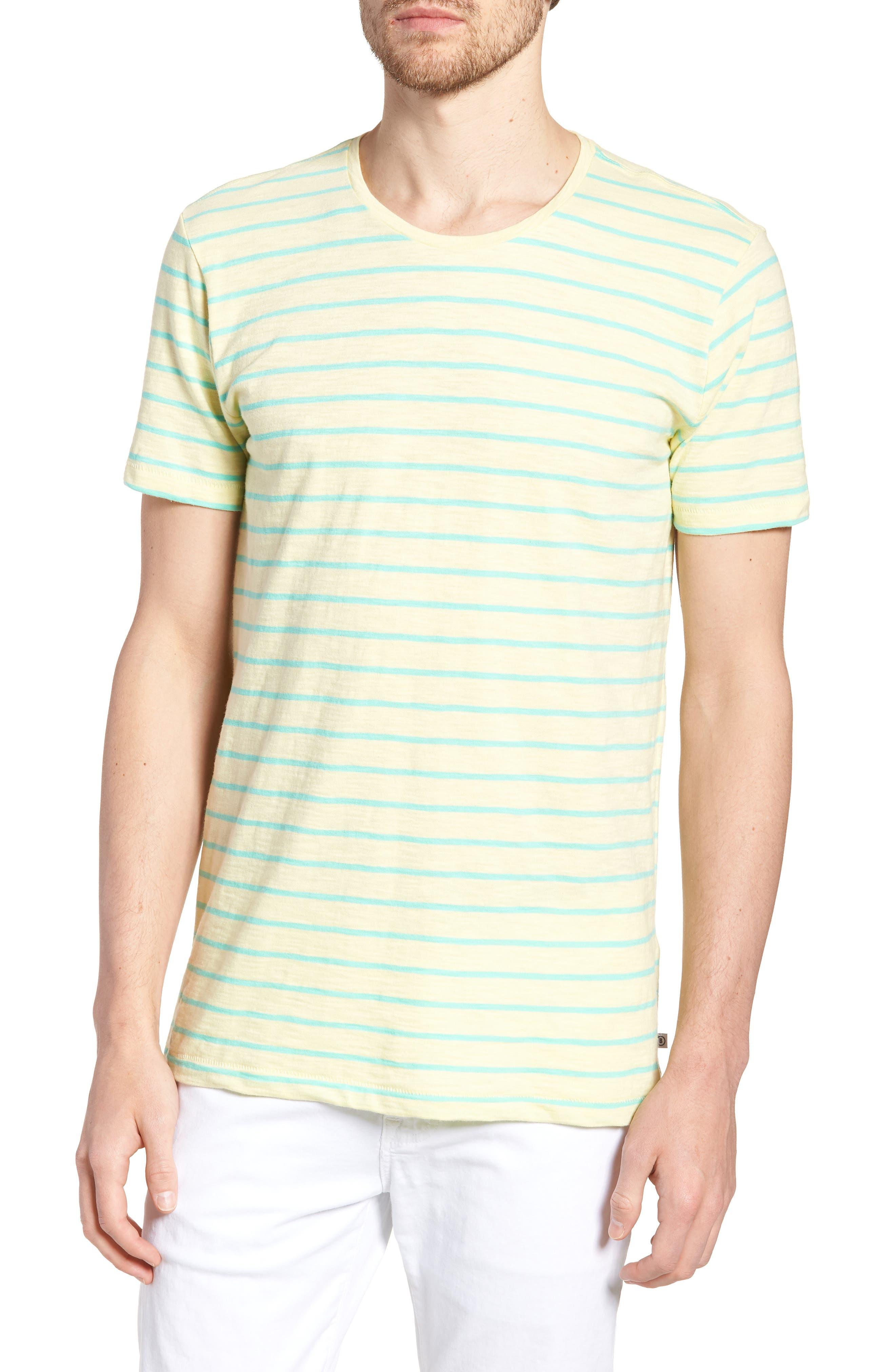 Stripe T-Shirt,                             Main thumbnail 1, color,                             Cactus Stripe