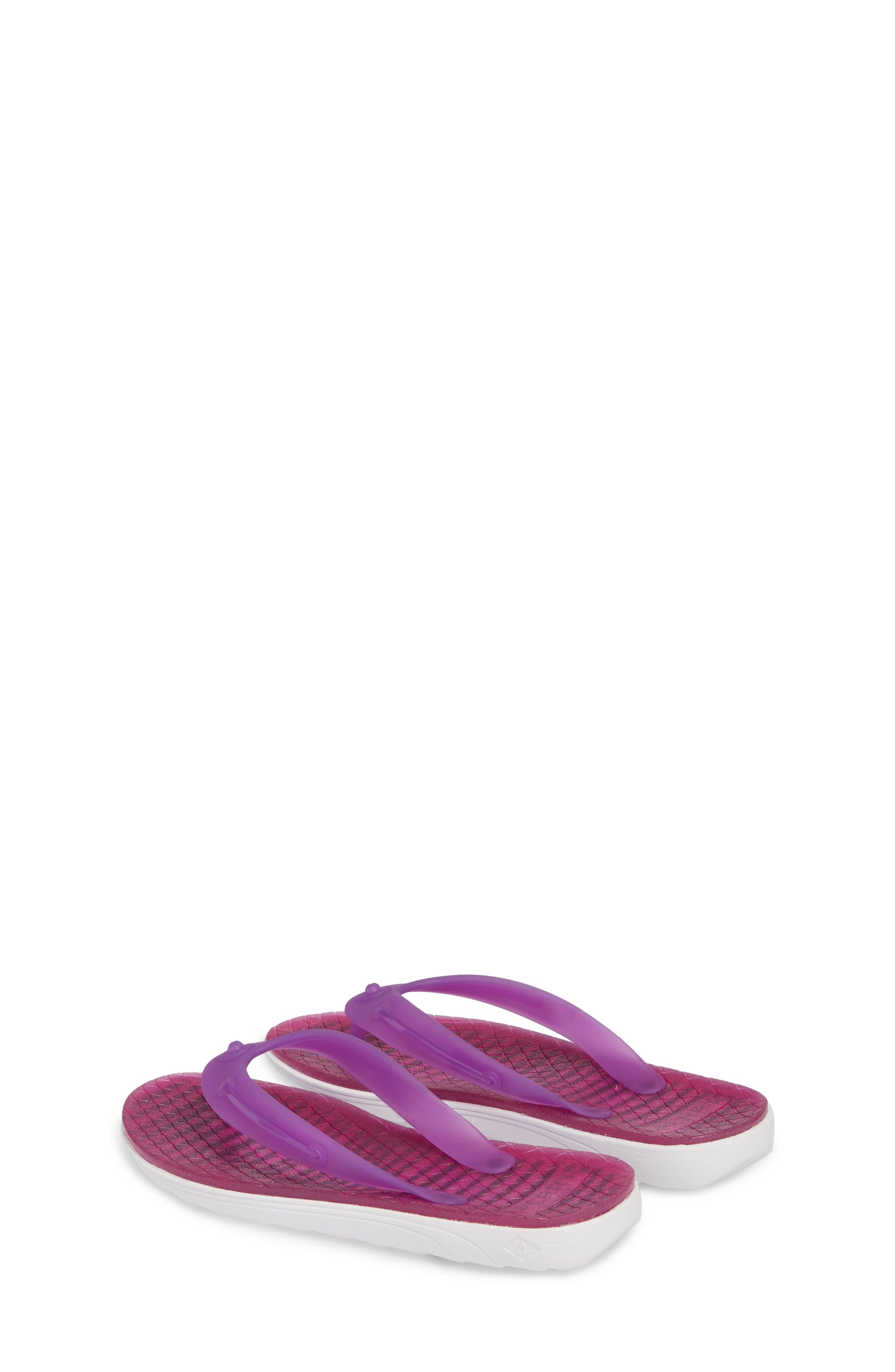 Jellyfish Emma Flip Flop,                             Alternate thumbnail 3, color,                             Berry