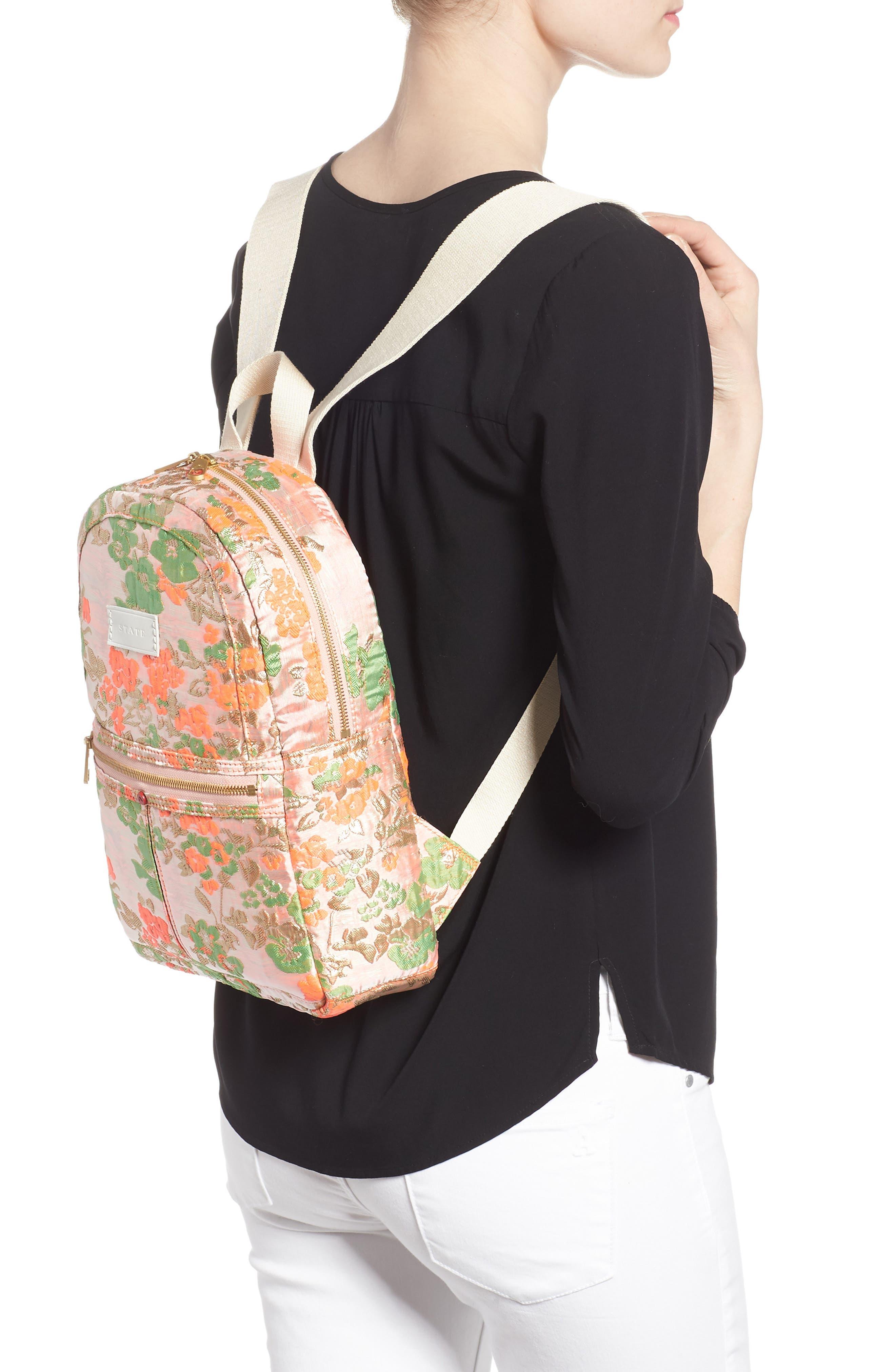 Alternate Image 2  - STATE Bags Mini Kane Brocade Backpack