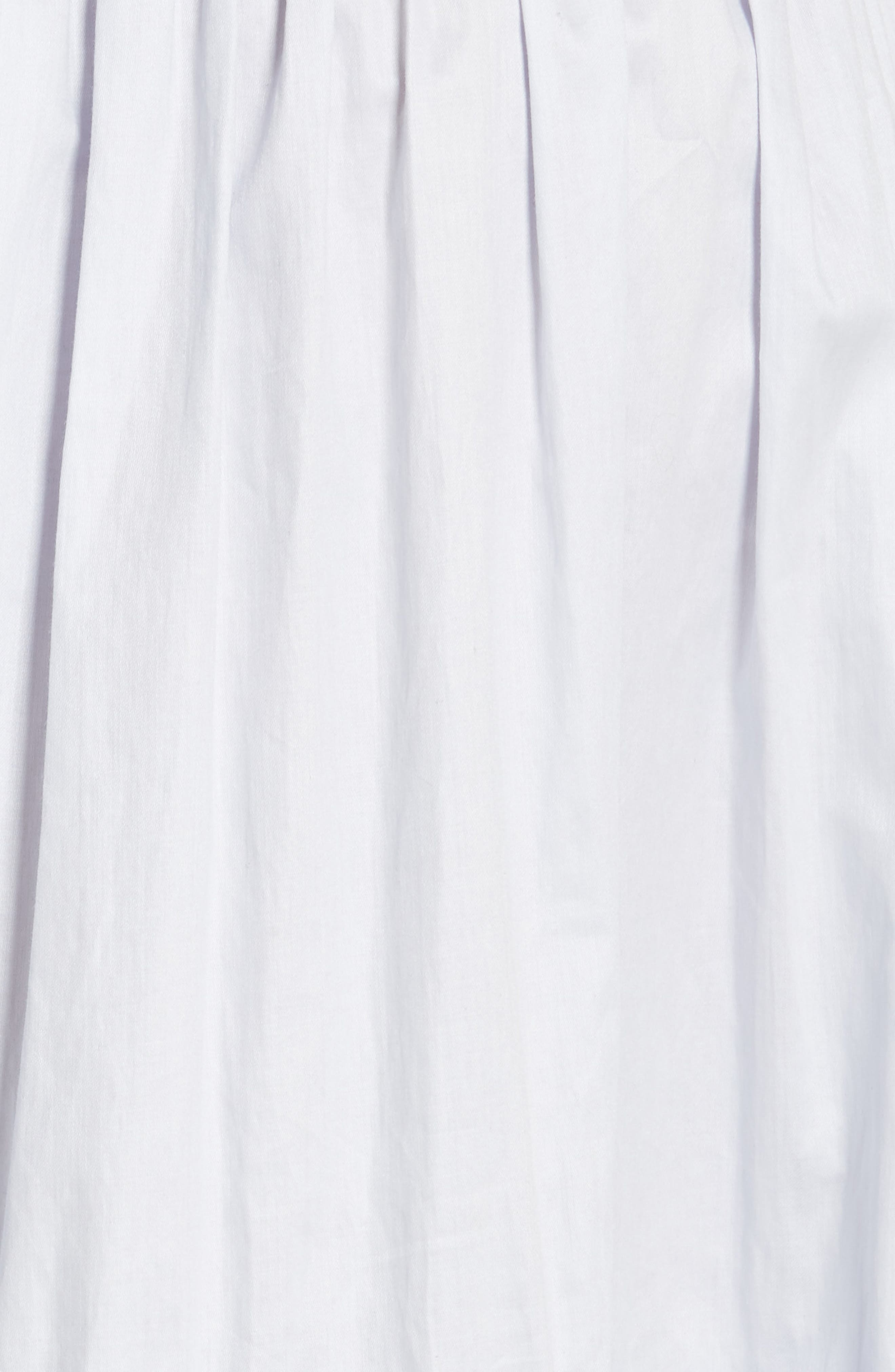 Alternate Image 6  - Rebecca Taylor Smocked Sleeveless Cotton Top