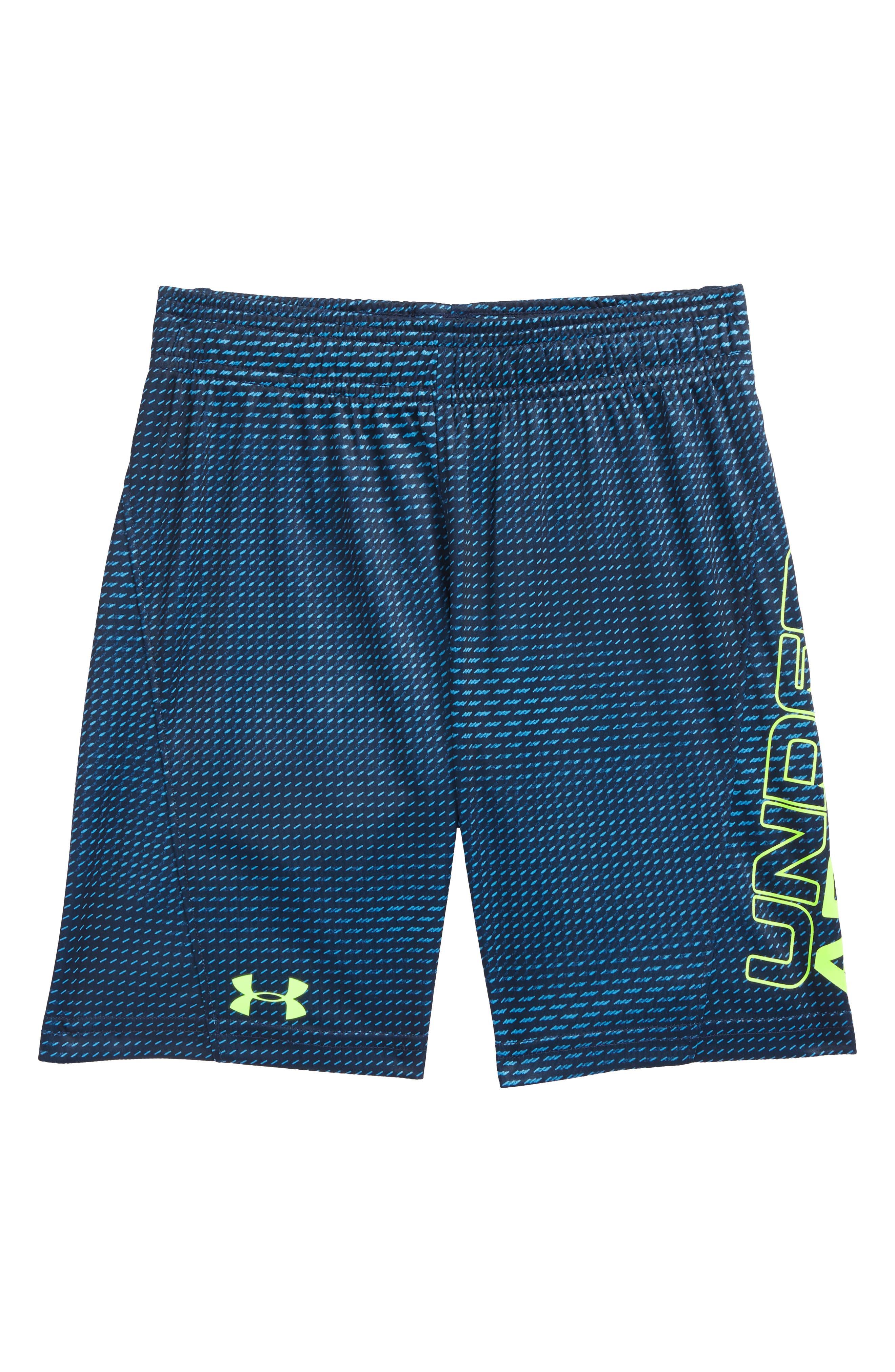 Sync Boost HeatGear<sup>®</sup> Shorts,                             Main thumbnail 1, color,                             Canoe Blue