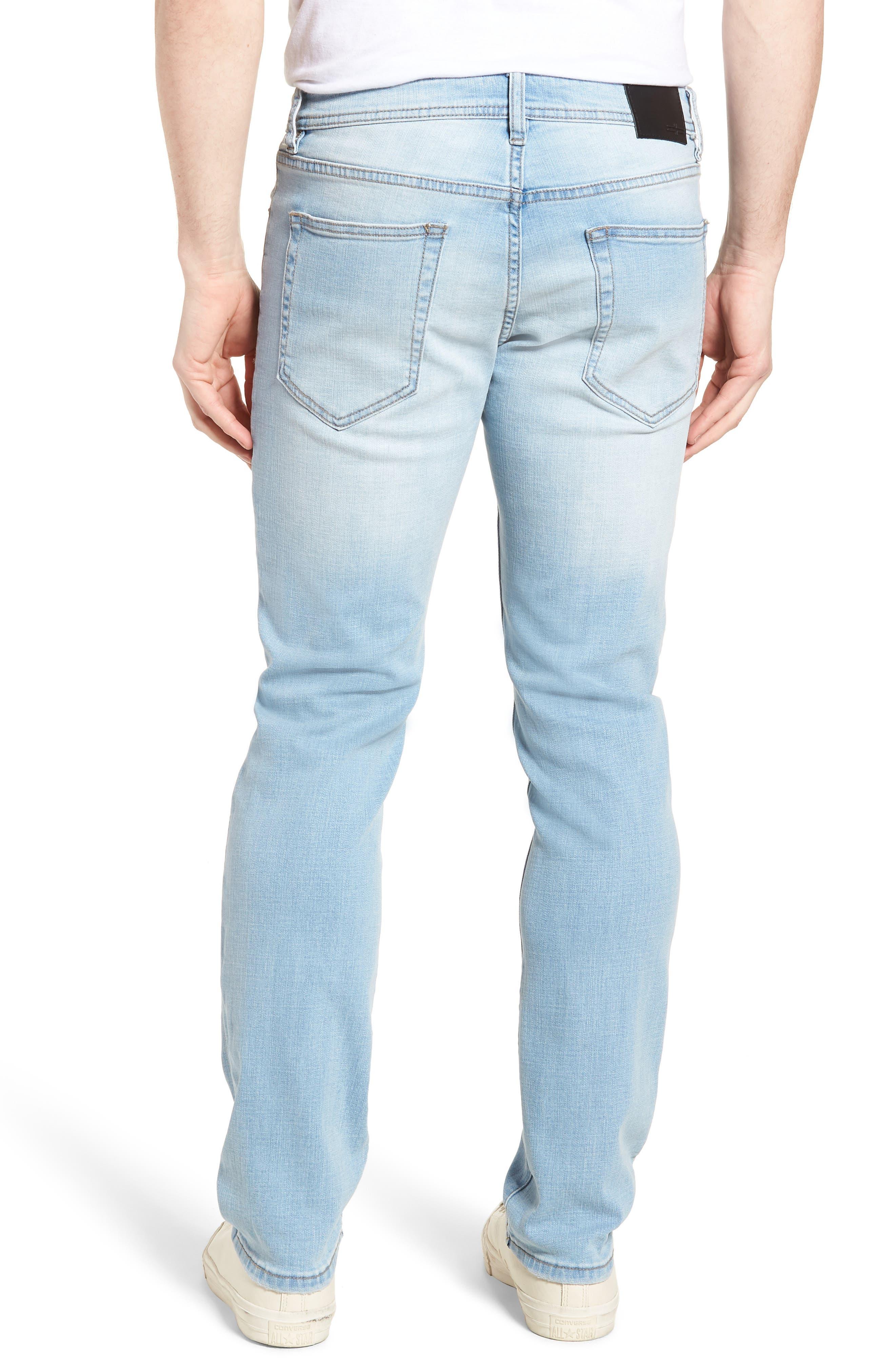 Jeans Co. Straight Leg Jeans,                             Alternate thumbnail 2, color,                             Riverside Light