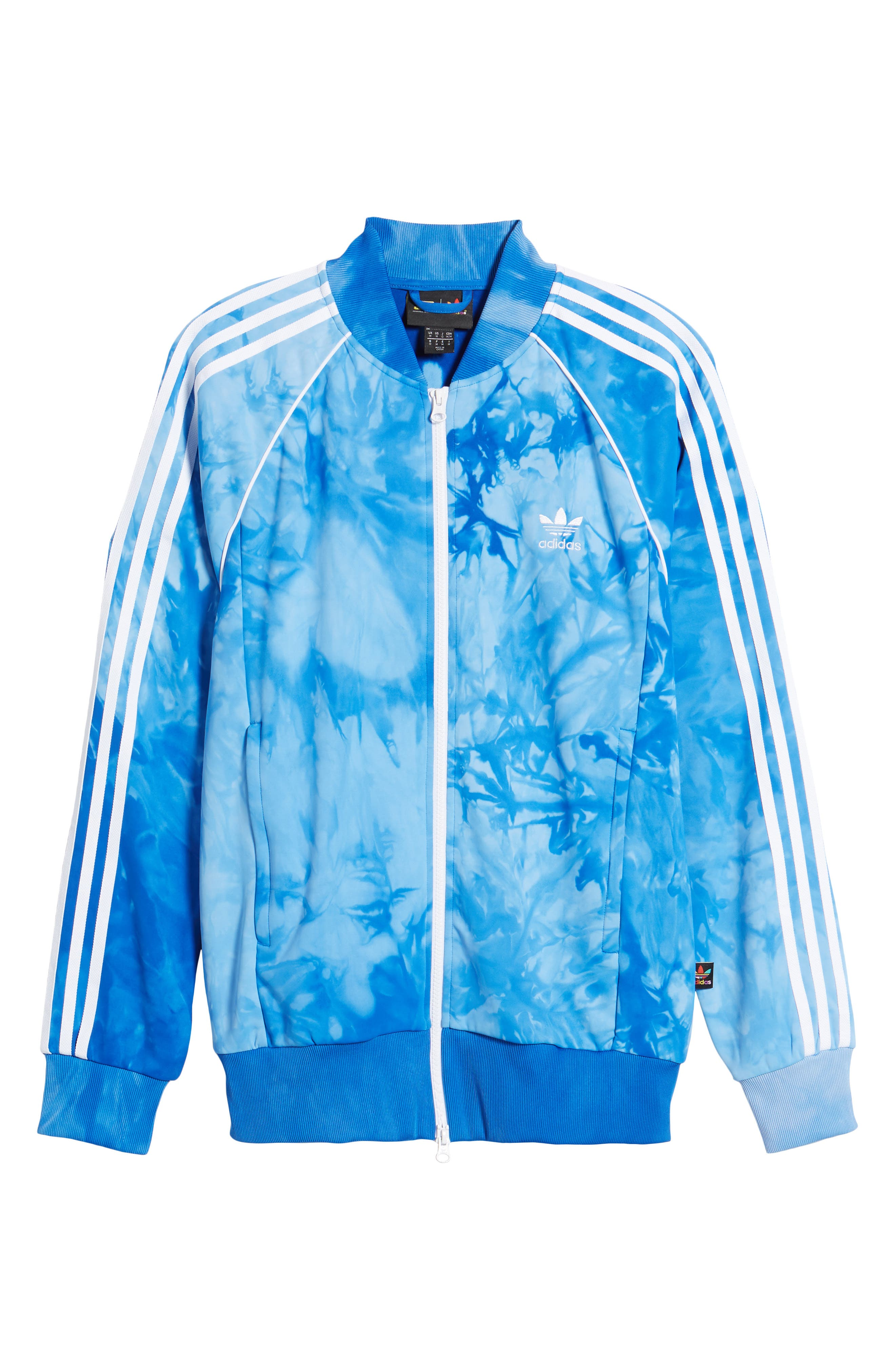 Hu Holi Track Jacket,                             Alternate thumbnail 6, color,                             Blue
